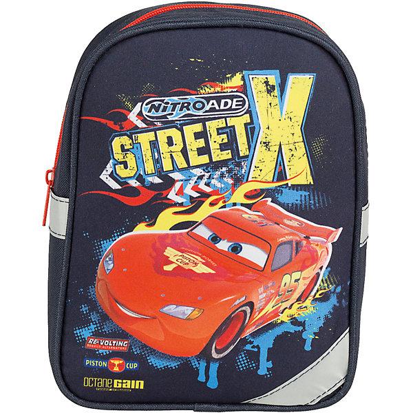 Дошкольный рюкзак 23,5*17*8 см, ТачкиТачки<br>Дошкольный рюкзак 23,5*17*8 см, Тачки – это удобный рюкзак с которым прогулки будут доставлять ребенку удовольствие.<br>Стильный и продуманный до мелочей дошкольный рюкзак Тачки отлично подойдет для повседневных дел, прогулок или походов по магазинам. В нем с легкостью можно разместить все самые нужные вещи. Рюкзак содержит одно вместительное отделение, закрывающееся на застежку-молнию. Он украшен ярким изображением Молнии МакКуина - главного героя популярного мультфильма Тачки. Широкие мягкие лямки регулируются по длине и равномерно распределяют нагрузку на плечевой пояс. Рюкзак оснащен петлей для подвешивания. Светоотражающие элементы на фронтальной части, боковых стенках и лямках рюкзака обеспечивают дополнительную безопасность в темное время суток.<br><br>Дополнительная информация:<br><br>- Размер: 23,5х17х8 см.<br>- Материал: полиэстер<br>- Цвет: темно-синий<br>- Вес: 133 гр.<br><br>Дошкольный рюкзак 23,5*17*8 см, Тачки можно купить в нашем интернет-магазине.<br><br>Ширина мм: 80<br>Глубина мм: 170<br>Высота мм: 235<br>Вес г: 133<br>Возраст от месяцев: 48<br>Возраст до месяцев: 84<br>Пол: Мужской<br>Возраст: Детский<br>SKU: 4489541