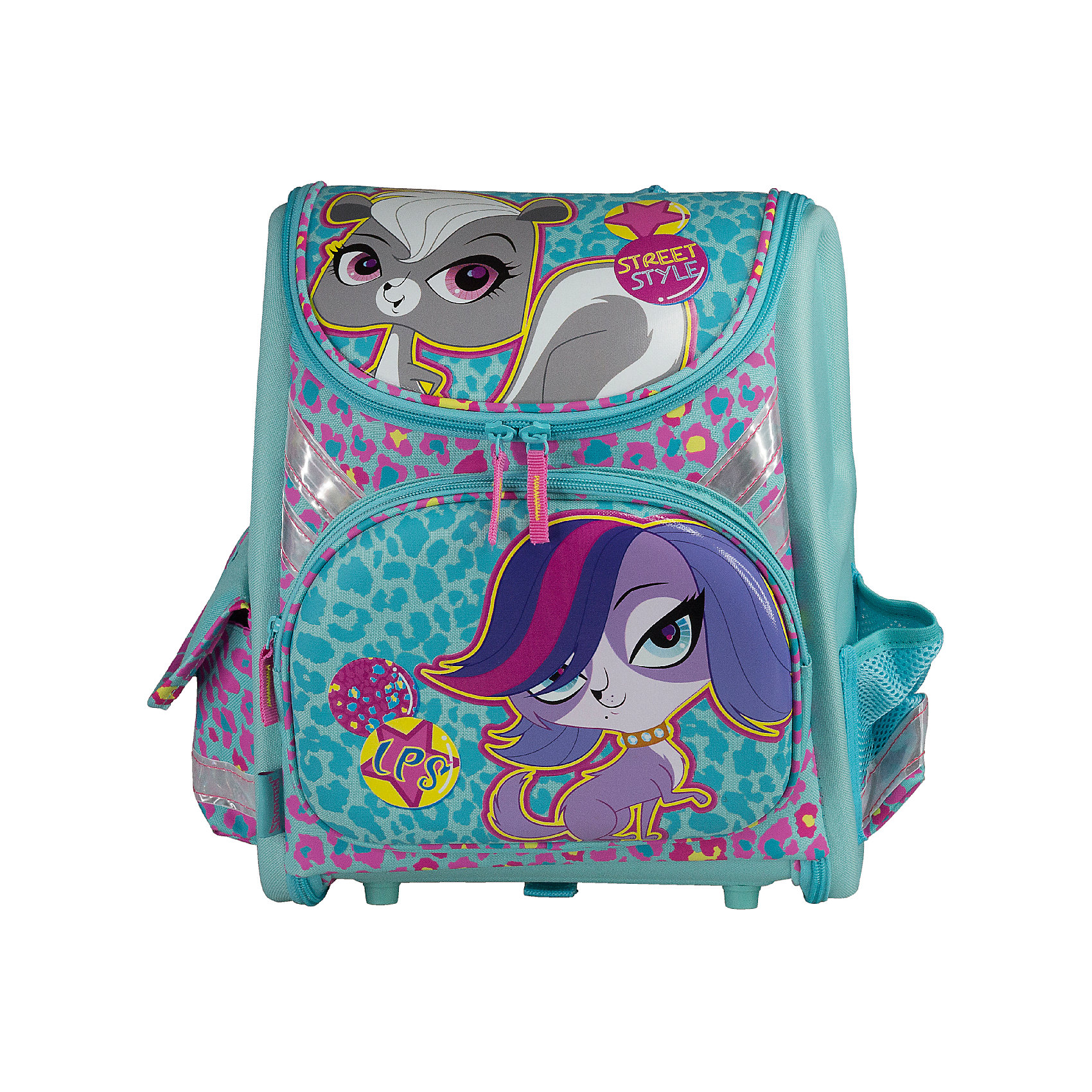 Академия групп Школьный ранец с EVA-спинкой, Littlest Pet Shop школьный ранец kinderline international littlest pet shop lpbb ut1 836