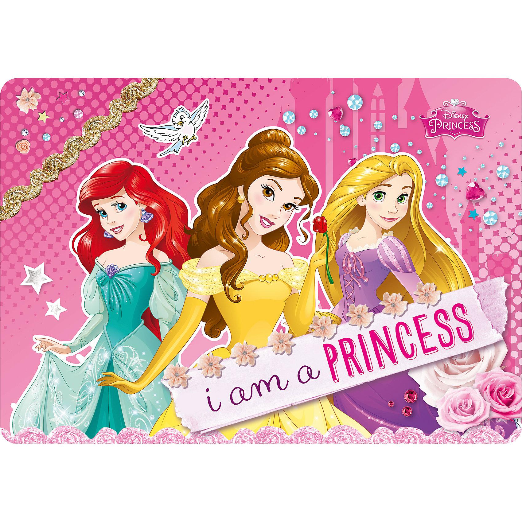 Подкладка на стол А4, Принцессы ДиснейПринцессы Дисней<br>Подкладка на стол, Принцессы Дисней, сохранит стол маленькой школьницы в чистоте и порядке, отлично подойдет для занятий творчеством, лепкой и рисованием. Подкладка выполнена в ярком привлекательном дизайне и украшена изображениями волшебных принцесс из популярных диснеевских мультфильмов.<br><br>Дополнительная информация:<br><br>- Материал: пластик.<br>- Формат: А4.<br>- Размер: 21 х 30 см.<br>- Вес: 24 гр.<br><br>Подкладку на стол А4, Принцессы Дисней, можно купить в нашем интернет-магазине.<br><br>Ширина мм: 210<br>Глубина мм: 300<br>Высота мм: 0<br>Вес г: 24<br>Возраст от месяцев: 48<br>Возраст до месяцев: 84<br>Пол: Женский<br>Возраст: Детский<br>SKU: 4489588