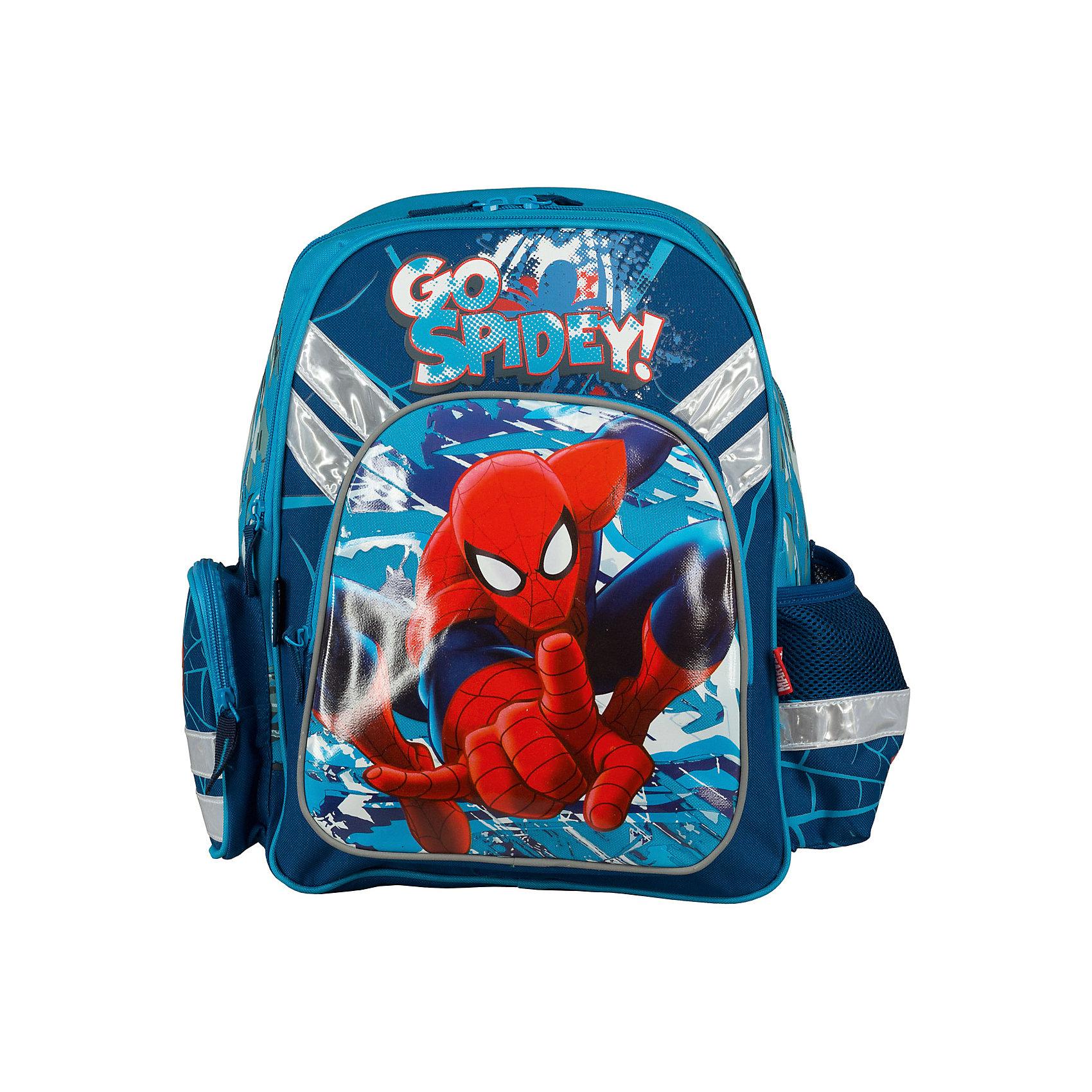 Эргономичный рюкзак с EVA-спинкой, Человек-Паук