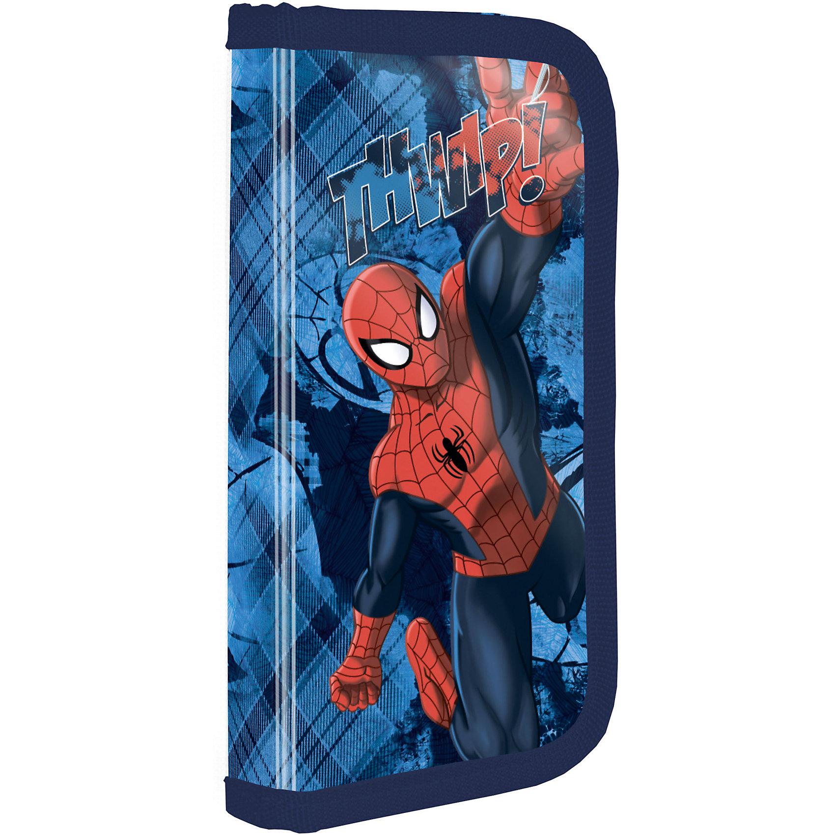Академия групп Жесткий пенал, Человек-Паук академия групп набор канцелярский в подарочной коробке человек паук