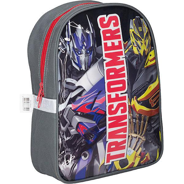 Дошкольный рюкзак, ТрансформерыТрансформеры<br>Дошкольный рюкзак 32*25*10 см, Трансформеры - практичный и яркий рюкзак станет верным другом вашего мальчика во всех путешествиях.<br>Стильный и продуманный до мелочей рюкзак Трансформеры отлично подойдет для занятий спортом или прогулок на свежем воздухе. В нем с легкостью можно разместить все самые нужные вещи. Рюкзак содержит одно вместительное отделение, закрывающееся на застежку-молнию. Внутри есть пришивной кармашек на молнии для мелочи. Рюкзак украшен ярким изображением Трансформеров. Широкие лямки регулируются по длине и равномерно распределяют нагрузку на плечевой пояс. Рюкзак оснащен ручкой для переноски. Светоотражающие элементы обеспечивают безопасность в темное время суток.<br><br>Дополнительная информация:<br><br>- Размер: 32 х 25 х 10 см.<br>- Материал: полиэстер<br>- Вес: 206 гр.<br><br>Дошкольный рюкзак 32*25*10 см, Трансформеры можно купить в нашем интернет-магазине.<br>Ширина мм: 100; Глубина мм: 250; Высота мм: 320; Вес г: 206; Возраст от месяцев: 96; Возраст до месяцев: 108; Пол: Мужской; Возраст: Детский; SKU: 4489615;