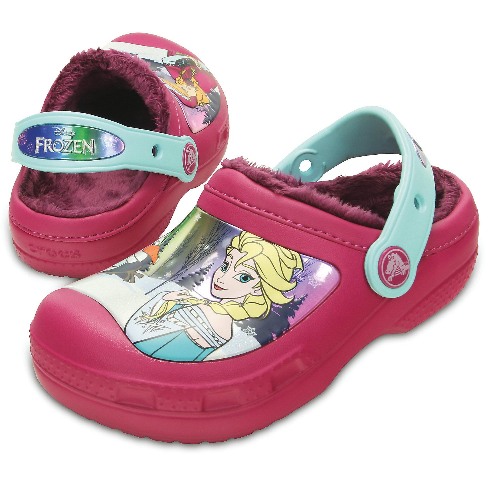 Сабо CC Frozen Lined Clog для девочки Crocs от myToys