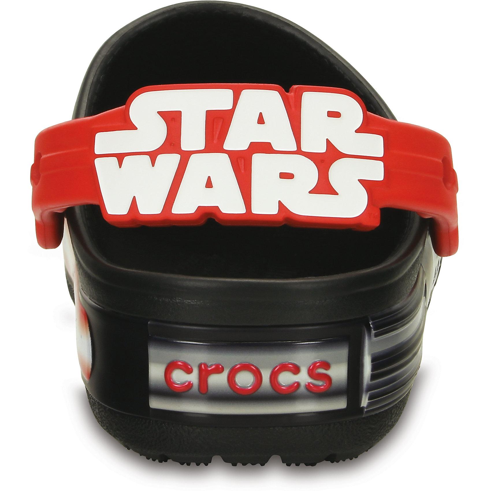 Сабо Kids' CrocsLights Star Wars Darth Vader Clog для мальчика Crocs от myToys