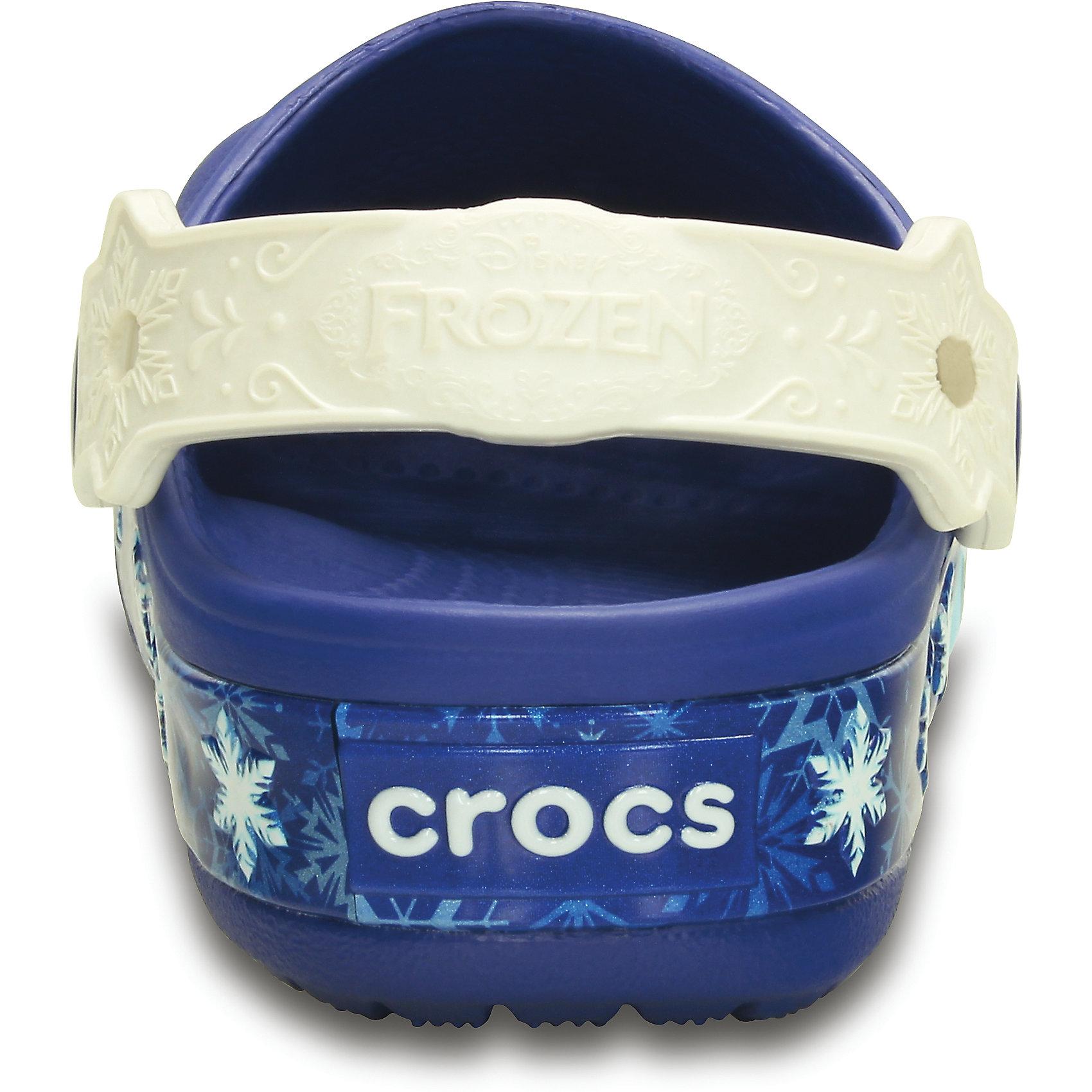 Сабо Lights Frzen Clg K для девочки Crocs от myToys