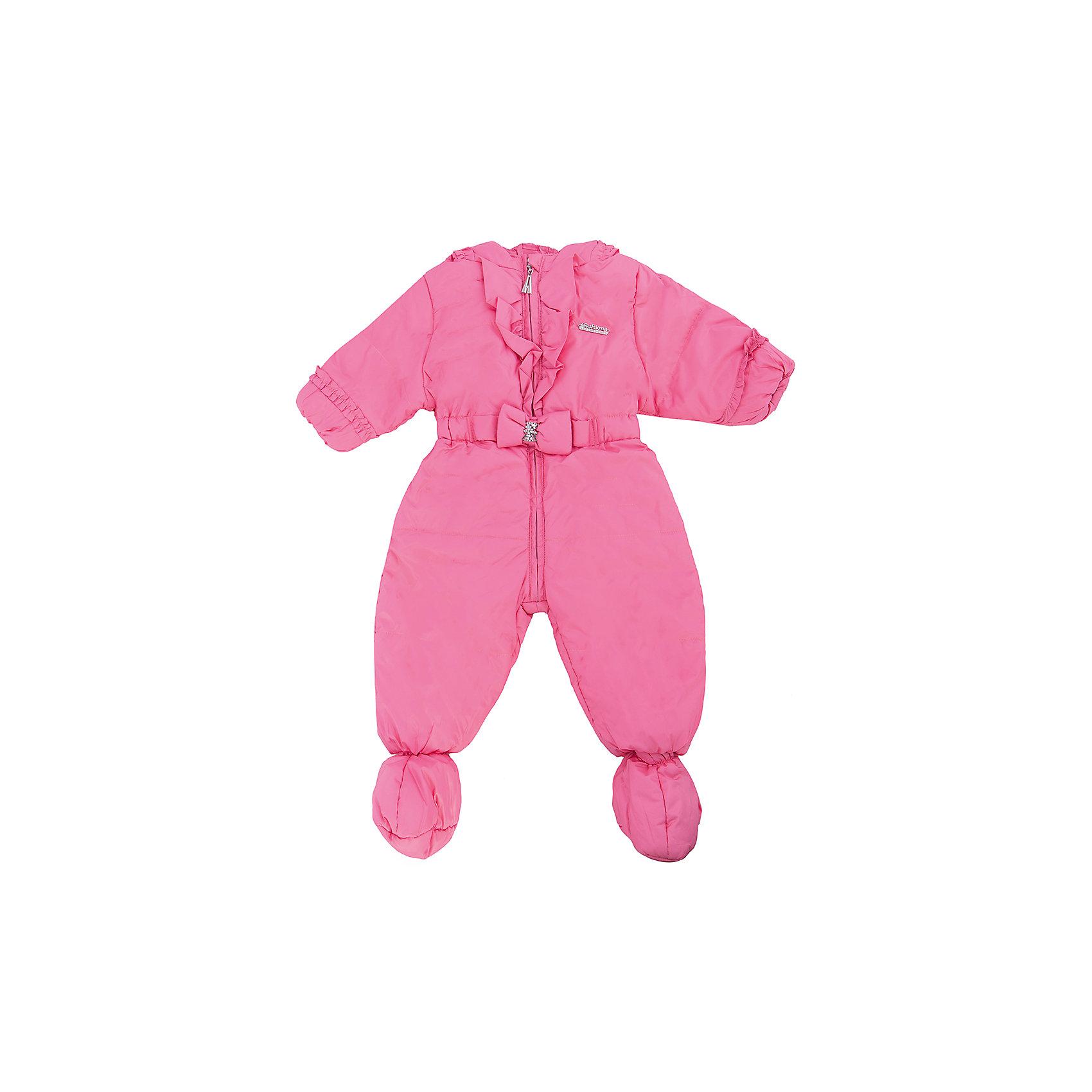 Комбинезон для девочки АртельКомбинезон для девочки от торговой марки Артель &#13;<br>&#13;<br>Симпатичный розовый комбинезон создан специально для девочек. Изделие выполнено из качественных материалов, имеет удобные карманы и капюшон. Отличный вариант для переменной погоды межсезонья!&#13;<br>Одежда от бренда Артель – это высокое качество по приемлемой цене и всегда продуманный дизайн. &#13;<br>&#13;<br>Особенности модели: &#13;<br>- цвет - розовый;&#13;<br>- в комплекте съемный пояс с резинкой;&#13;<br>- наличие капюшона;&#13;<br>- утеплитель;&#13;<br>- отделка бантом;&#13;<br>- украшен бантом и рюшами;<br>- пинетки отстегиваются;<br>- застежка-молния.&#13;<br>&#13;<br>Дополнительная информация:&#13;<br>&#13;<br>Состав: &#13;<br>- верх: YSD;<br>- подкладка: хлопок интерлок;<br>- утеплитель: TermoFinn 100 г.<br><br>&#13;<br>Температурный режим: &#13;<br>от -10 °C до + 10 °C&#13;<br>&#13;<br>Комбинезон для девочки Артель (Artel) можно купить в нашем магазине.<br><br>Ширина мм: 356<br>Глубина мм: 10<br>Высота мм: 245<br>Вес г: 519<br>Цвет: розовый<br>Возраст от месяцев: 12<br>Возраст до месяцев: 15<br>Пол: Женский<br>Возраст: Детский<br>Размер: 80,74,68<br>SKU: 4495957