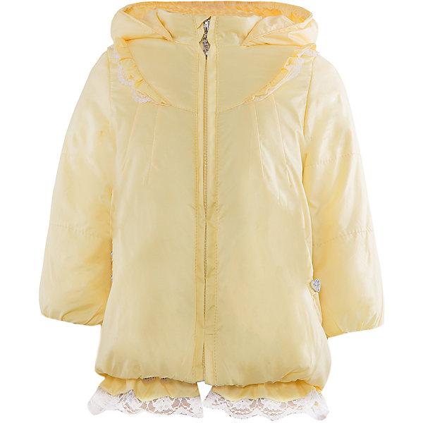 Куртка для девочки АртельВерхняя одежда<br>Куртка для девочки от торговой марки Артель &#13;<br>&#13;<br>Модная куртка с утеплителем не только греет, она модно смотрится и отлично сидит. Изделие выполнено из качественных материалов, имеет удобные карманы и капюшон. Отличный вариант для переменной погоды межсезонья!&#13;<br>Одежда от бренда Артель – это высокое качество по приемлемой цене и всегда продуманный дизайн. &#13;<br>&#13;<br>Особенности модели: &#13;<br>- цвет - лимонный;&#13;<br>- наличие карманов;&#13;<br>- наличие капюшона;&#13;<br>- утеплитель;&#13;<br>- отделка рюшами и кружевом;&#13;<br>- застежка-молния.&#13;<br>&#13;<br>Дополнительная информация:&#13;<br>&#13;<br>Состав: &#13;<br>- верх: YSD;&#13;<br>- подкладка: хлопок интерлок;&#13;<br>- утеплитель: термофайбер 100 г.&#13;<br>&#13;<br>Температурный режим: &#13;<br>от - 10 °C до + 10 °C&#13;<br>&#13;<br>Куртку для девочки Артель (Artel) можно купить в нашем магазине.<br><br>Ширина мм: 356<br>Глубина мм: 10<br>Высота мм: 245<br>Вес г: 519<br>Цвет: желтый<br>Возраст от месяцев: 12<br>Возраст до месяцев: 18<br>Пол: Женский<br>Возраст: Детский<br>Размер: 86,80,98,92<br>SKU: 4496031