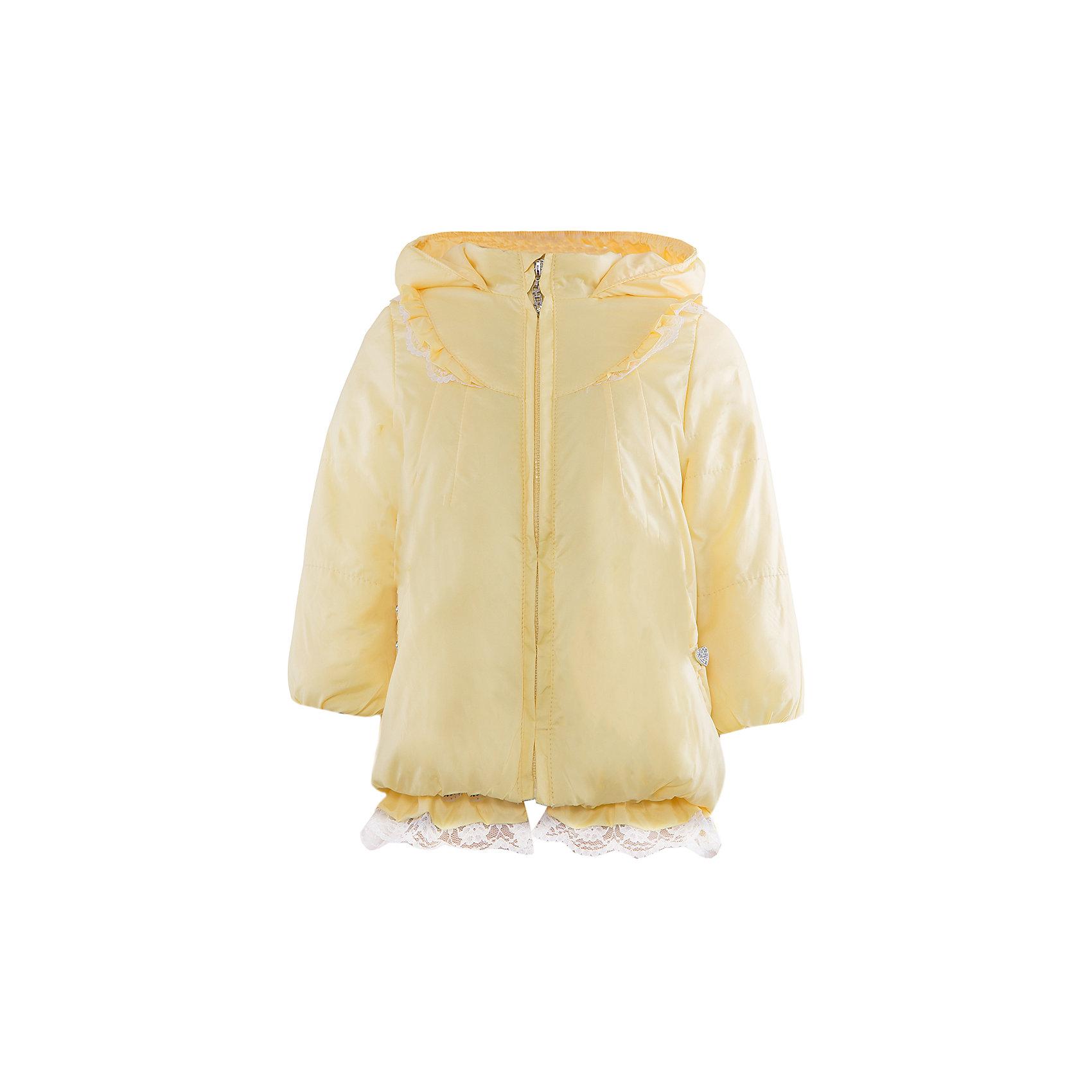 Куртка для девочки АртельКуртка для девочки от торговой марки Артель &#13;<br>&#13;<br>Модная куртка с утеплителем не только греет, она модно смотрится и отлично сидит. Изделие выполнено из качественных материалов, имеет удобные карманы и капюшон. Отличный вариант для переменной погоды межсезонья!&#13;<br>Одежда от бренда Артель – это высокое качество по приемлемой цене и всегда продуманный дизайн. &#13;<br>&#13;<br>Особенности модели: &#13;<br>- цвет - лимонный;&#13;<br>- наличие карманов;&#13;<br>- наличие капюшона;&#13;<br>- утеплитель;&#13;<br>- отделка рюшами и кружевом;&#13;<br>- застежка-молния.&#13;<br>&#13;<br>Дополнительная информация:&#13;<br>&#13;<br>Состав: &#13;<br>- верх: YSD;&#13;<br>- подкладка: хлопок интерлок;&#13;<br>- утеплитель: термофайбер 100 г.&#13;<br>&#13;<br>Температурный режим: &#13;<br>от - 10 °C до + 10 °C&#13;<br>&#13;<br>Куртку для девочки Артель (Artel) можно купить в нашем магазине.<br><br>Ширина мм: 356<br>Глубина мм: 10<br>Высота мм: 245<br>Вес г: 519<br>Цвет: желтый<br>Возраст от месяцев: 12<br>Возраст до месяцев: 18<br>Пол: Женский<br>Возраст: Детский<br>Размер: 86,80,98,92<br>SKU: 4496031