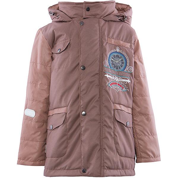 Куртка для мальчика АртельВерхняя одежда<br>Куртка для мальчика от торговой марки Артель &#13;<br>&#13;<br>Утепленная куртка позволит ребенку чувствовать себя комфортно даже в холодную погоду. Сделана она из качественных материалов, поэтому может прослужить не один сезон. Практичная и удобная вещь.<br>Одежда от бренда Артель – это высокое качество по приемлемой цене и всегда продуманный дизайн. &#13;<br>&#13;<br>Особенности модели: &#13;<br>- цвет - бежевый;&#13;<br>- наличие карманов;&#13;<br>- капюшон;<br>- утеплитель;&#13;<br>- украшена вышивкой;&#13;<br>- застежка-молния под клапаном на кнопках.&#13;<br>&#13;<br>Дополнительная информация:&#13;<br>&#13;<br>Состав: &#13;<br>- верх: FITSYSTEM;<br>- подкладка: тиси;<br>- утеплитель: термофайбер 100 г<br>&#13;<br>Температурный режим: &#13;<br>от - 10 °C до + 10 °C&#13;<br>&#13;<br>Куртка для мальчика Артель (Artel) можно купить в нашем магазине.<br><br>Ширина мм: 356<br>Глубина мм: 10<br>Высота мм: 245<br>Вес г: 519<br>Цвет: бежевый<br>Возраст от месяцев: 36<br>Возраст до месяцев: 48<br>Пол: Мужской<br>Возраст: Детский<br>Размер: 104,128,116,110,122<br>SKU: 4496042