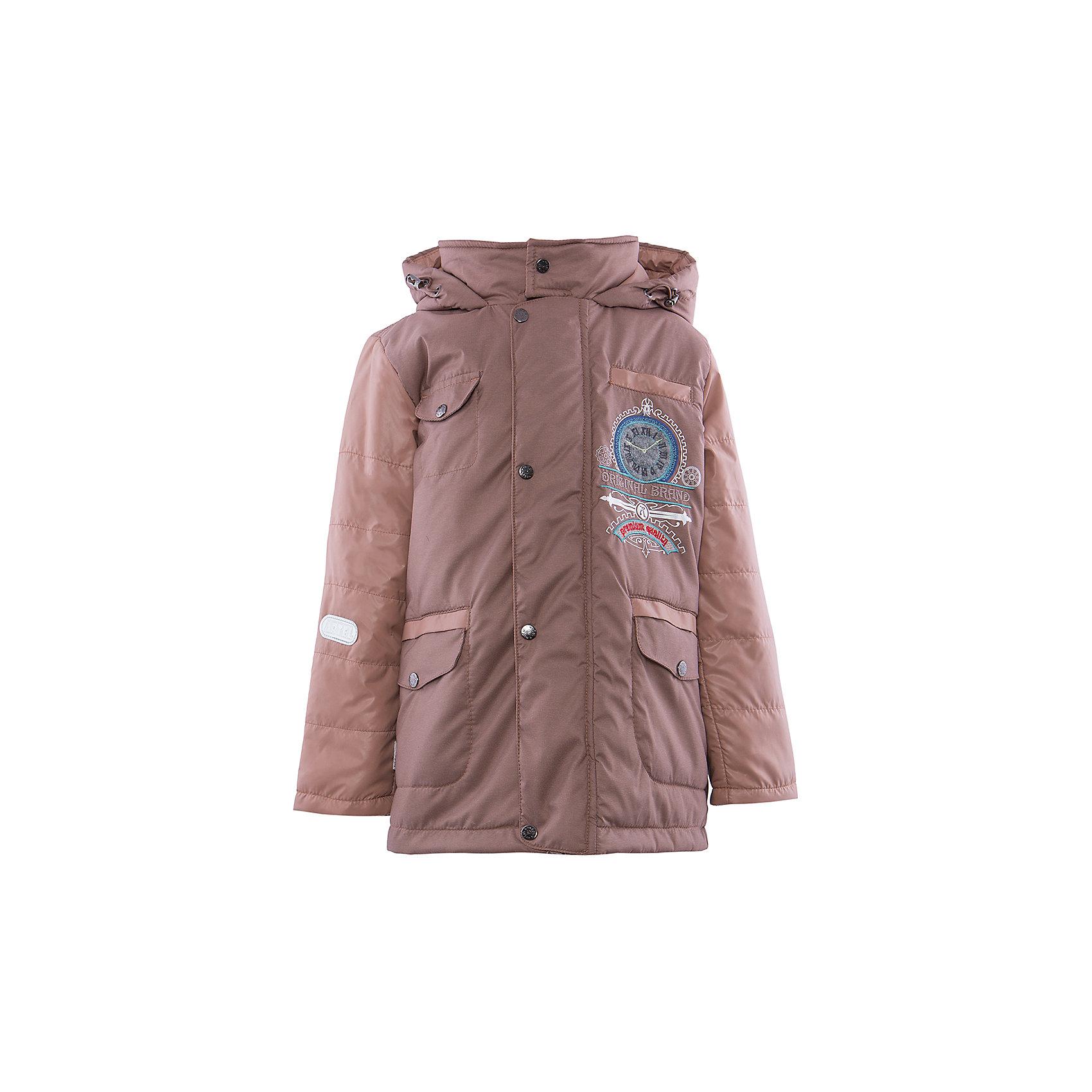 Куртка для мальчика АртельВерхняя одежда<br>Куртка для мальчика от торговой марки Артель &#13;<br>&#13;<br>Утепленная куртка позволит ребенку чувствовать себя комфортно даже в холодную погоду. Сделана она из качественных материалов, поэтому может прослужить не один сезон. Практичная и удобная вещь.<br>Одежда от бренда Артель – это высокое качество по приемлемой цене и всегда продуманный дизайн. &#13;<br>&#13;<br>Особенности модели: &#13;<br>- цвет - бежевый;&#13;<br>- наличие карманов;&#13;<br>- капюшон;<br>- утеплитель;&#13;<br>- украшена вышивкой;&#13;<br>- застежка-молния под клапаном на кнопках.&#13;<br>&#13;<br>Дополнительная информация:&#13;<br>&#13;<br>Состав: &#13;<br>- верх: FITSYSTEM;<br>- подкладка: тиси;<br>- утеплитель: термофайбер 100 г<br>&#13;<br>Температурный режим: &#13;<br>от - 10 °C до + 10 °C&#13;<br>&#13;<br>Куртка для мальчика Артель (Artel) можно купить в нашем магазине.<br><br>Ширина мм: 356<br>Глубина мм: 10<br>Высота мм: 245<br>Вес г: 519<br>Цвет: бежевый<br>Возраст от месяцев: 36<br>Возраст до месяцев: 48<br>Пол: Мужской<br>Возраст: Детский<br>Размер: 104,116,128,122,110<br>SKU: 4496042