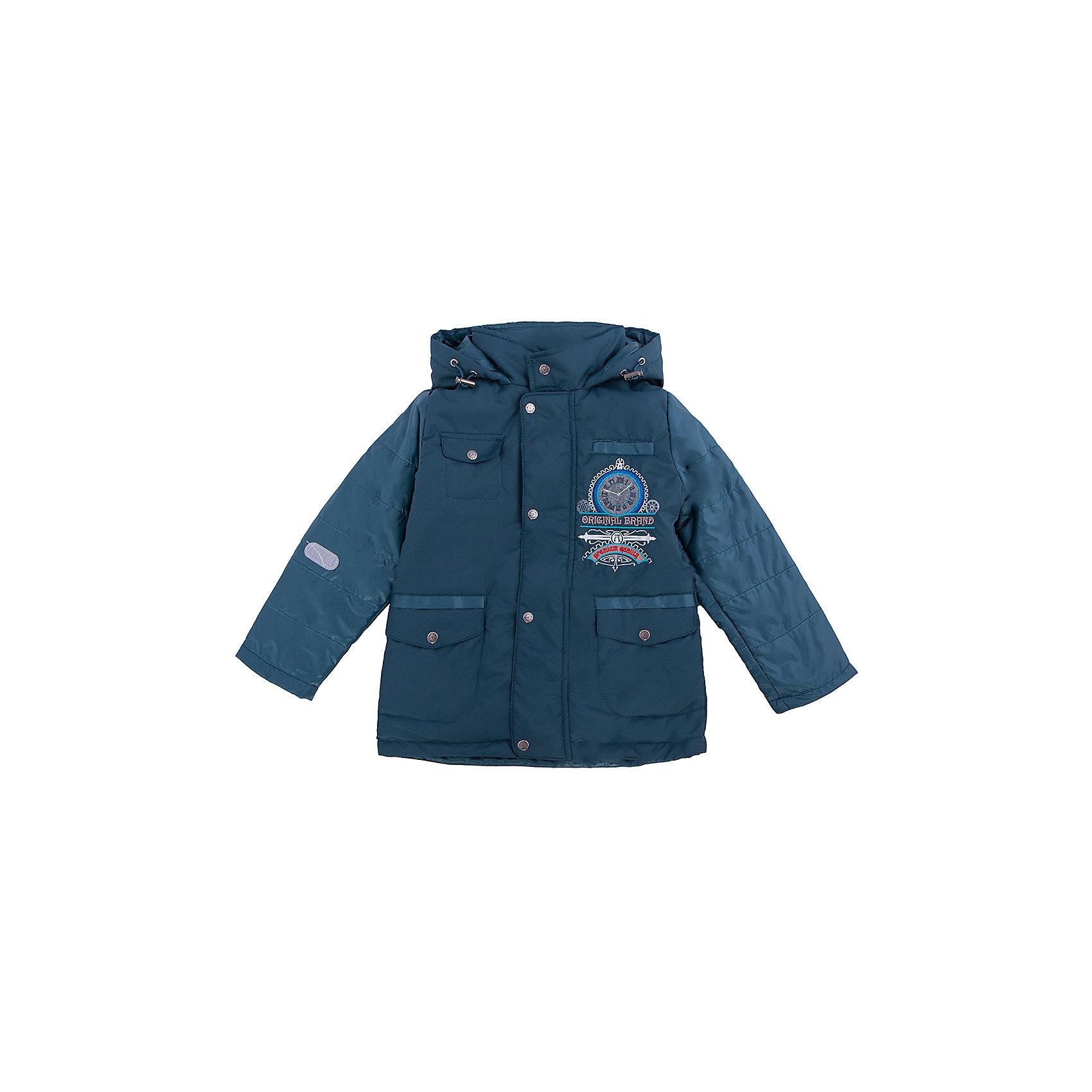 Куртка для мальчика АртельВерхняя одежда<br>Куртка для мальчика от торговой марки Артель &#13;<br>&#13;<br>Утепленная куртка позволит ребенку чувствовать себя комфортно даже в холодную погоду. Сделана она из качественных материалов, поэтому может прослужить не один сезон. Практичная и удобная вещь.<br>Одежда от бренда Артель – это высокое качество по приемлемой цене и всегда продуманный дизайн. &#13;<br>&#13;<br>Особенности модели: &#13;<br>- цвет - зеленый;&#13;<br>- наличие карманов;&#13;<br>- капюшон;<br>- утеплитель;&#13;<br>- украшена вышивкой;&#13;<br>- застежка-молния под клапаном на кнопках.&#13;<br>&#13;<br>Дополнительная информация:&#13;<br>&#13;<br>Состав: &#13;<br>- верх: FITSYSTEM;<br>- подкладка: тиси;<br>- утеплитель: термофайбер 100 г<br>&#13;<br>Температурный режим: &#13;<br>от - 10 °C до + 10 °C&#13;<br>&#13;<br>Куртку для мальчика Артель (Artel) можно купить в нашем магазине.<br><br>Ширина мм: 356<br>Глубина мм: 10<br>Высота мм: 245<br>Вес г: 519<br>Цвет: зеленый<br>Возраст от месяцев: 48<br>Возраст до месяцев: 60<br>Пол: Мужской<br>Возраст: Детский<br>Размер: 110,116,104,122,128<br>SKU: 4496048
