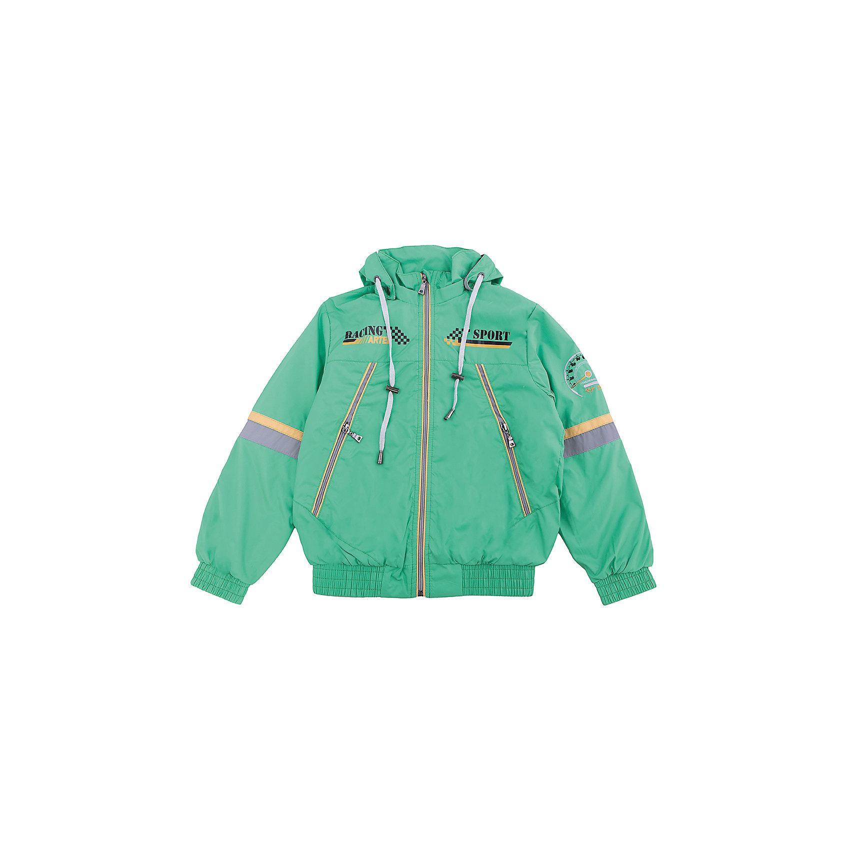 Ветровка для мальчика АртельВетровка для мальчика от торговой марки Артель &#13;<br>&#13;<br>Модная легкая куртка отлично подойдет для прогулок в прохладную погоду. Изделие выполнено из качественных материалов, имеет удобные карманы и капюшон. <br>Одежда от бренда Артель – это высокое качество по приемлемой цене и всегда продуманный дизайн. &#13;<br>&#13;<br>Особенности модели: &#13;<br>- цвет - зеленый;&#13;<br>- наличие карманов;&#13;<br>- наличие капюшона;&#13;<br>- низ и манжеты на резинках;&#13;<br>- декорирована вышивкой и принтом;&#13;<br>- застежка-молния.&#13;<br>&#13;<br>Дополнительная информация:&#13;<br>&#13;<br>Состав: &#13;<br>- верх: PRINC;&#13;<br>- подкладка: тиси.&#13;<br>&#13;<br>Температурный режим: &#13;<br>от +10 °C до +20 °C&#13;<br>&#13;<br>Ветровку для мальчика Артель (Artel) можно купить в нашем магазине.<br><br>Ширина мм: 356<br>Глубина мм: 10<br>Высота мм: 245<br>Вес г: 519<br>Цвет: зеленый<br>Возраст от месяцев: 84<br>Возраст до месяцев: 96<br>Пол: Мужской<br>Возраст: Детский<br>Размер: 128,140,146,134<br>SKU: 4496159