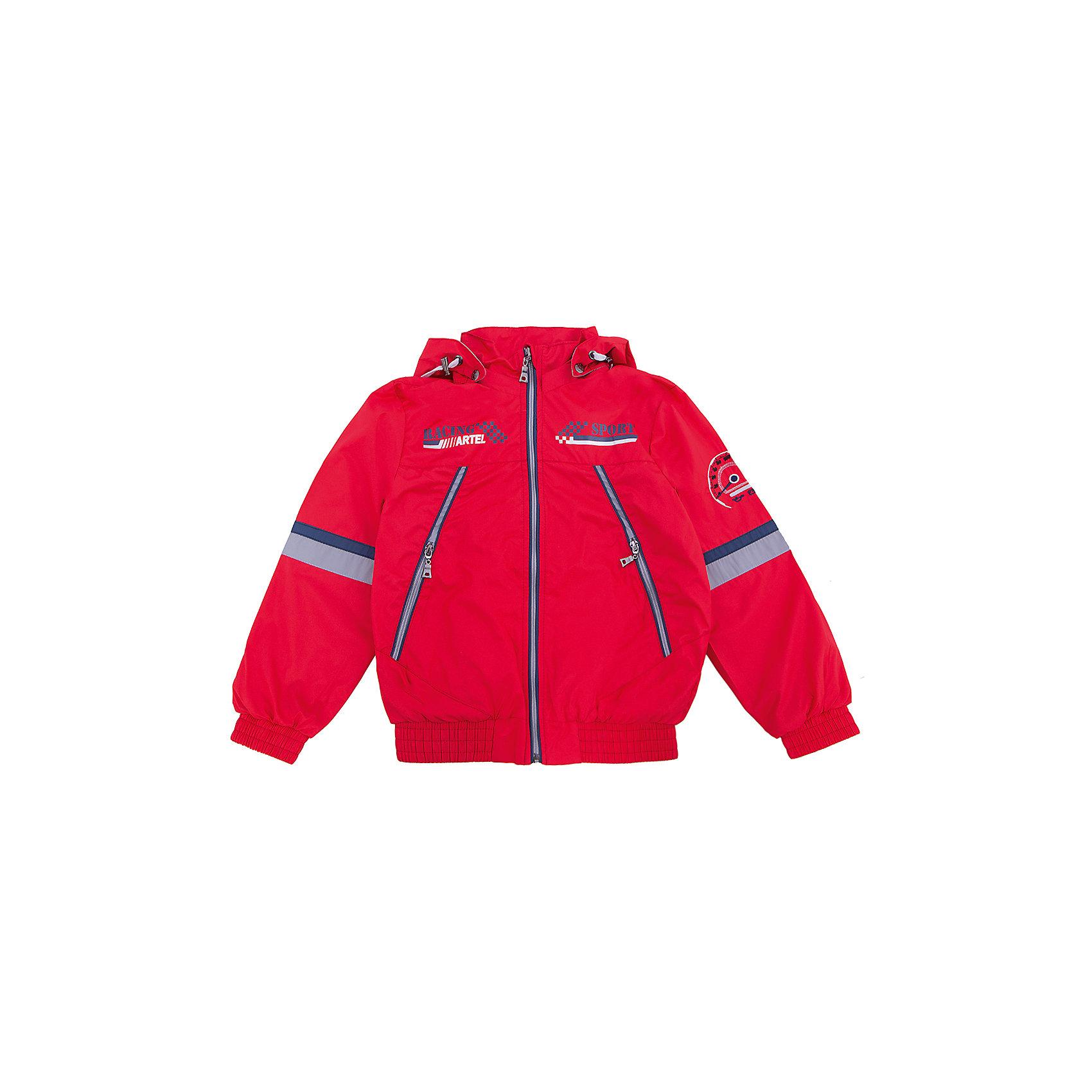 Ветровка для мальчика АртельВерхняя одежда<br>Ветровка для мальчика от торговой марки Артель &#13;<br>&#13;<br>Модная легкая куртка отлично подойдет для прогулок в прохладную погоду. Изделие выполнено из качественных материалов, имеет удобные карманы и капюшон. <br>Одежда от бренда Артель – это высокое качество по приемлемой цене и всегда продуманный дизайн. &#13;<br>&#13;<br>Особенности модели: &#13;<br>- цвет - красный;&#13;<br>- наличие карманов;&#13;<br>- наличие капюшона;&#13;<br>- низ и манжеты на резинках;&#13;<br>- декорирована вышивкой и принтом;&#13;<br>- застежка-молния.&#13;<br>&#13;<br>Дополнительная информация:&#13;<br>&#13;<br>Состав: &#13;<br>- верх: PRINC;&#13;<br>- подкладка: тиси.&#13;<br>&#13;<br>Температурный режим: &#13;<br>от +10 °C до +20 °C&#13;<br>&#13;<br>Ветровку для мальчика Артель (Artel) можно купить в нашем магазине.<br><br>Ширина мм: 356<br>Глубина мм: 10<br>Высота мм: 245<br>Вес г: 519<br>Цвет: красный<br>Возраст от месяцев: 84<br>Возраст до месяцев: 96<br>Пол: Мужской<br>Возраст: Детский<br>Размер: 128,140,146,134<br>SKU: 4496164