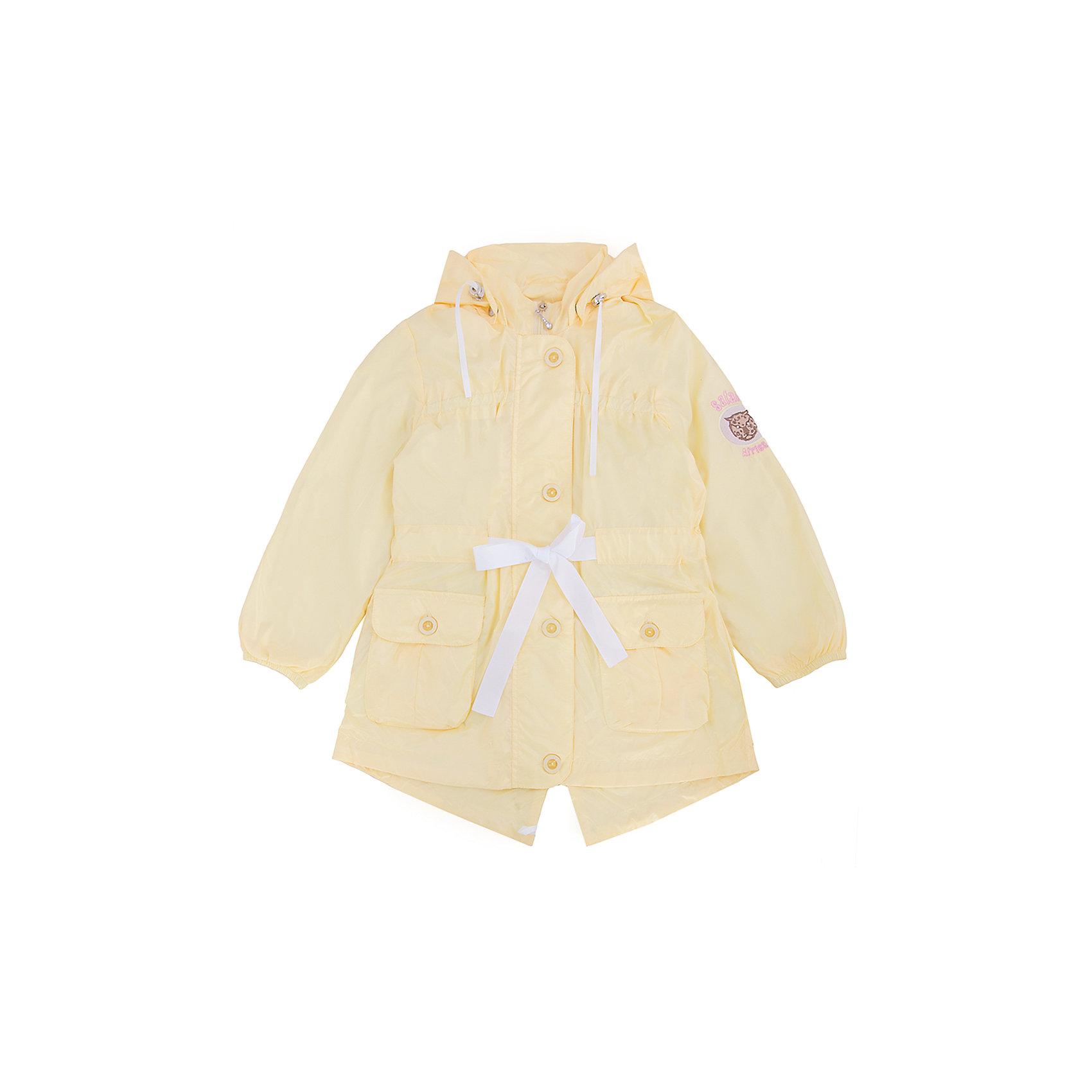 Ветровка для девочки АртельКуртка для девочки от торговой марки Артель &#13;<br>&#13;<br>Модная куртка отлично смотрится и хорошо сидит. Изделие выполнено из качественных материалов, имеет удобные карманы и капюшон. Отличный вариант для переменной погоды межсезонья!&#13;<br>Одежда от бренда Артель – это высокое качество по приемлемой цене и всегда продуманный дизайн. &#13;<br>&#13;<br>Особенности модели: &#13;<br>- цвет - желтый;&#13;<br>- наличие карманов;&#13;<br>- наличие капюшона;&#13;<br>- пояс с бантом;&#13;<br>- рукава-фонарики;&#13;<br>- застежка-молния, планка.&#13;<br>&#13;<br>Дополнительная информация:&#13;<br>&#13;<br>Состав: &#13;<br>- верх: F Multi;&#13;<br>- подкладка: тиси.&#13;<br>&#13;<br>Температурный режим: &#13;<br>от +5 °C до + 20 °C&#13;<br>&#13;<br>Куртку для девочки Артель (Artel) можно купить в нашем магазине.<br><br>Ширина мм: 356<br>Глубина мм: 10<br>Высота мм: 245<br>Вес г: 519<br>Цвет: желтый<br>Возраст от месяцев: 84<br>Возраст до месяцев: 96<br>Пол: Женский<br>Возраст: Детский<br>Размер: 128,146,134,140<br>SKU: 4496175