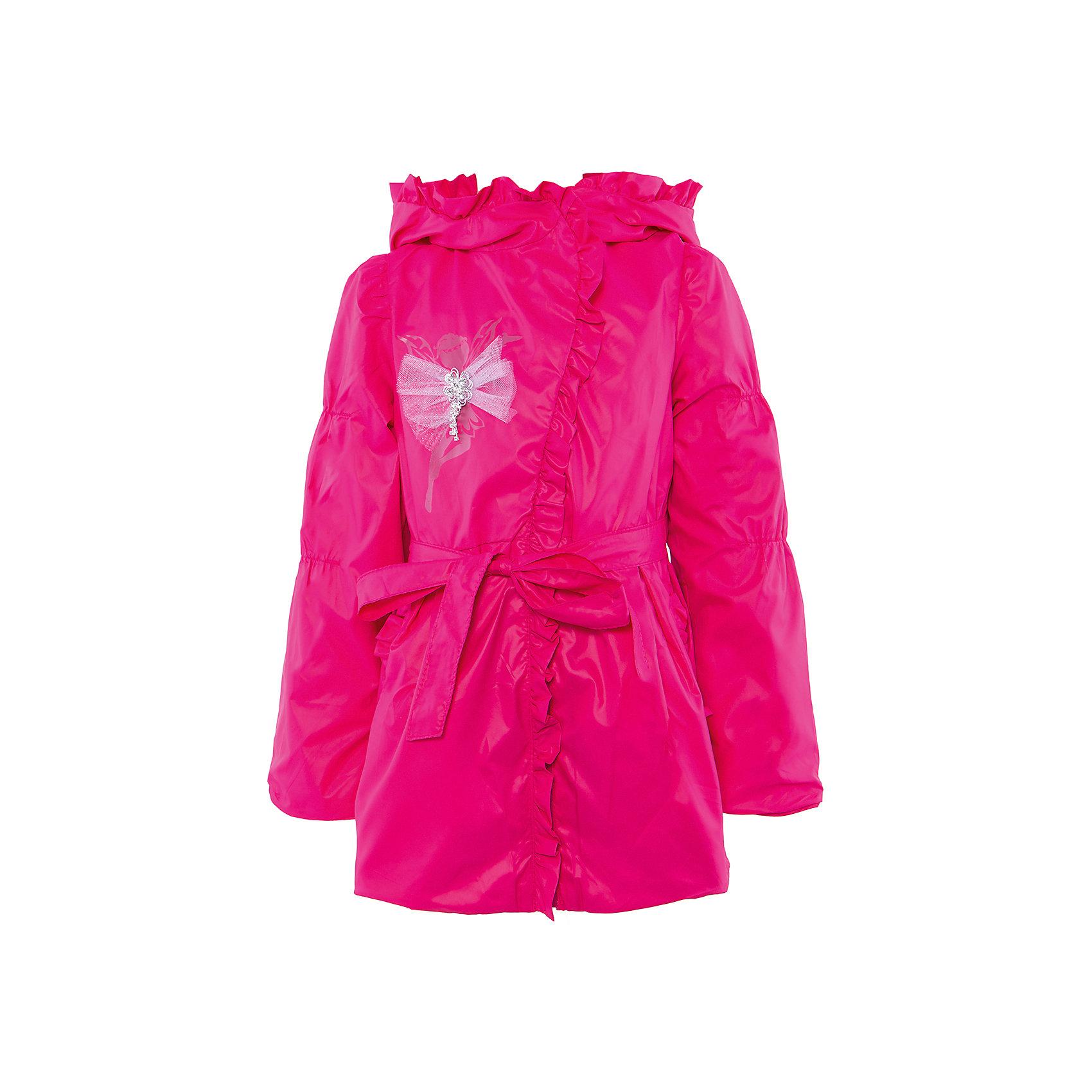 Ветровка для девочки АртельКуртка для девочки от торговой марки Артель &#13;<br>&#13;<br>Модная куртка отлично смотрится и хорошо сидит. Изделие выполнено из качественных материалов, имеет удобные карманы и капюшон. Отличный вариант для переменной погоды межсезонья!&#13;<br>Одежда от бренда Артель – это высокое качество по приемлемой цене и всегда продуманный дизайн. &#13;<br>&#13;<br>Особенности модели: &#13;<br>- цвет - розовый;&#13;<br>- наличие карманов;&#13;<br>- наличие капюшона;&#13;<br>- пояс с бантом;&#13;<br>- отделка рюшами;&#13;<br>- застежка-молния.&#13;<br>&#13;<br>Дополнительная информация:&#13;<br>&#13;<br>Состав: &#13;<br>- верх: YSD;&#13;<br>- подкладка: хлопок интерлок, тиси.&#13;<br>&#13;<br>Температурный режим: &#13;<br>от +5 °C до + 20 °C&#13;<br>&#13;<br>Куртку для девочки Артель (Artel) можно купить в нашем магазине.<br><br>Ширина мм: 356<br>Глубина мм: 10<br>Высота мм: 245<br>Вес г: 519<br>Цвет: розовый<br>Возраст от месяцев: 72<br>Возраст до месяцев: 84<br>Пол: Женский<br>Возраст: Детский<br>Размер: 122,110,116,104,128<br>SKU: 4496186