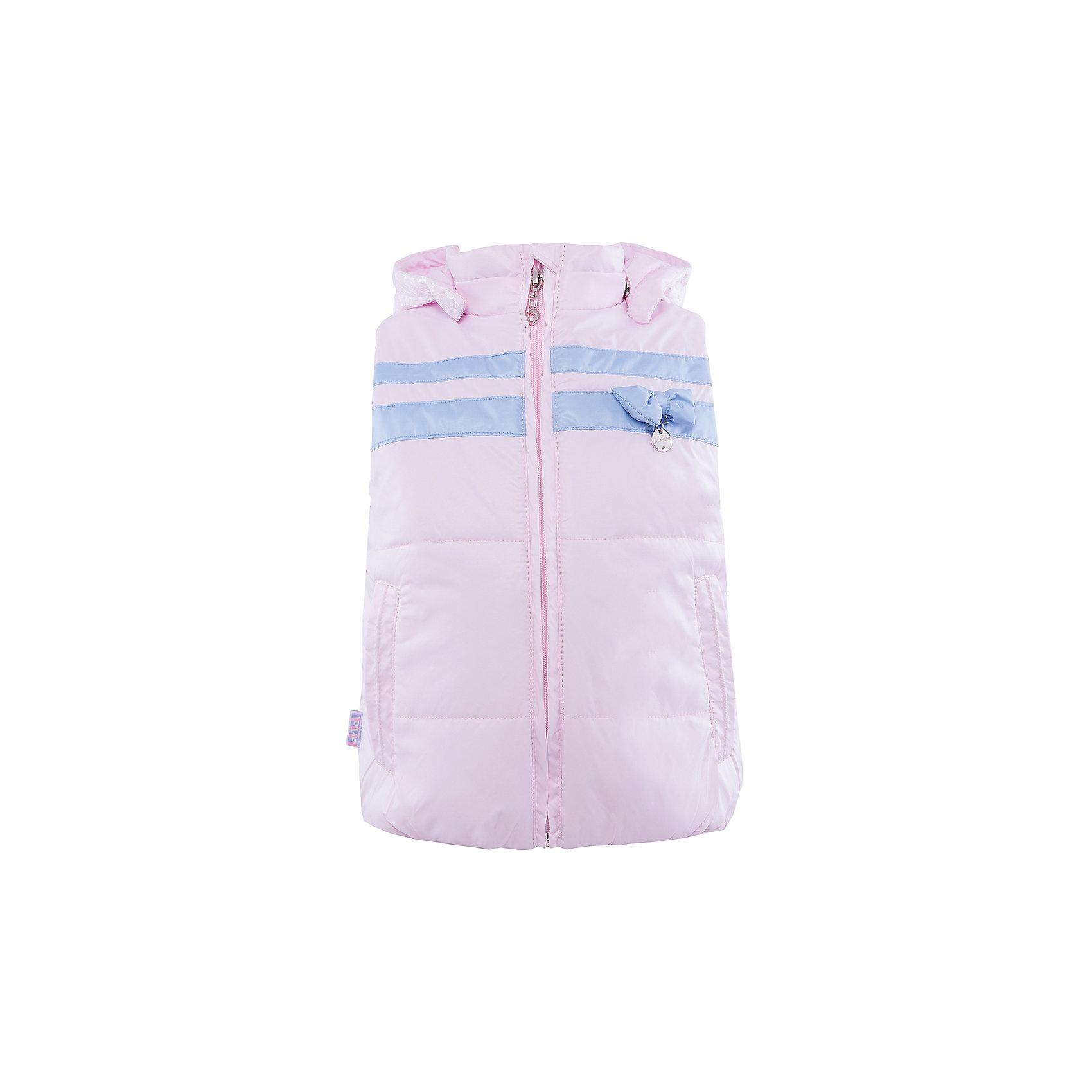 Жилетка для девочки АртельЖилет для девочки от торговой марки Артель &#13;<br>&#13;<br>Модный жилет отлично смотрится и хорошо сидит. Изделие выполнено из качественных материалов, имеет удобные карманы и капюшон. Отличный вариант для переменной погоды межсезонья!&#13;<br>Одежда от бренда Артель – это высокое качество по приемлемой цене и всегда продуманный дизайн. &#13;<br>&#13;<br>Особенности модели: &#13;<br>- цвет - розовый;&#13;<br>- наличие карманов;&#13;<br>- капюшон;&#13;<br>- отделка голубыми деталями;&#13;<br>- застежка-молния.&#13;<br>&#13;<br>Дополнительная информация:&#13;<br>&#13;<br>Состав: &#13;<br>- верх: FITSYSTEM;&#13;<br>- подкладка: сити;<br>- утеплитель: термофайбер 150 гр.<br>&#13;<br>Температурный режим: &#13;<br>от +5 °C до + 20 °C&#13;<br>&#13;<br>Жилет для девочки Артель (Artel) можно купить в нашем магазине.<br><br>Ширина мм: 356<br>Глубина мм: 10<br>Высота мм: 245<br>Вес г: 519<br>Цвет: розовый<br>Возраст от месяцев: 18<br>Возраст до месяцев: 24<br>Пол: Женский<br>Возраст: Детский<br>Размер: 92,116,110,122,104,98,86<br>SKU: 4496250