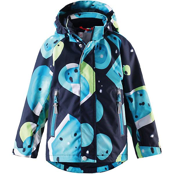 Куртка для мальчика Reimatec ReimaОдежда<br>Демисезонная куртка для детей рассчитана на круглогодичное использование, будь то дождь или солнечная погода, просто в холодную погоду необходимо добавить несколько слоев Reima®. Обратите внимание, что с удобной системой кнопочных застежек Play Layers® можно легко пристегнуть к куртке несколько слоев Reima® для создания дополнительного тепла и комфорта. Сетчатая подкладка куртки из качественного, водонепроницаемого и дышащего материала добавляет комфорта. Съемный капюшон и светоотражающие детали обеспечивают безопасность во время активных игр на воздухе, а карманы на молнии гарантируют идеальное хранение наиболее ценных для ребенка мелочей.<br><br>Дополнительная информация:<br><br>Куртка демисезонная для детей<br>Все швы проклеены и водонепроницаемы<br>Водо- и ветронепроницаемый, «дышащий» и грязеотталкивающий материал<br>Подкладка из mesh-сетки<br>Безопасный, отстегивающийся и регулируемый капюшон<br>Регулируемые манжеты и подол<br>Два кармана на молнии<br>Безопасные светоотражающие детали<br>Состав:<br>100% ПЭ, ПУ-покрытие<br>Уход:<br>Стирать по отдельности, вывернув наизнанку. Застегнуть молнии и липучки. Стирать моющим средством, не содержащим отбеливающие вещества. Полоскать без специального средства. Во избежание изменения цвета изделие необходимо вынуть из стиральной машинки незамедлительно после окончания программы стирки. Можно сушить в сушильном шкафу или центрифуге (макс. 40° C).<br>Ширина мм: 356; Глубина мм: 10; Высота мм: 245; Вес г: 519; Цвет: синий; Возраст от месяцев: 36; Возраст до месяцев: 48; Пол: Мужской; Возраст: Детский; Размер: 122,104,140,134,110,116,128; SKU: 4497369;