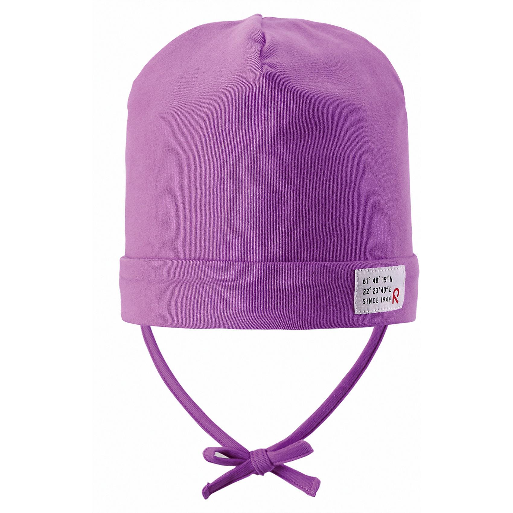 Шапка для девочки ReimaВесна пришла! А к весне мы подготовили эту легкую шапочку для малышей свежей расцветки с УФ-защитой 40+. Шапочка изготовлена из дышащего и быстросохнущего материла Play Jersey®, эффективно выводящего влагу с кожи. Идеальный выбор для активных прогулок на весеннем солнышке! <br><br>Дополнительная информация:<br><br>Трикотажная шапка «Бини» для малышей<br>Быстросохнущий материал Play Jersey, приятный на ощупь<br>Мягкий хлопчатобумажный верх, внутренняя поверхность хорошо выводит влагу<br>Фактор защиты от ультрафиолета 40+<br>Сплошная подкладка: отводящий влагу материал Play Jersey<br>Логотип Reima® сбоку<br>Состав:<br>65% ХЛ 30% ПЭ 5% ЭЛ<br>Уход:<br>Стирать с бельем одинакового цвета, вывернув наизнанку. Полоскать без специального средства. Придать первоначальную форму вo влажном виде.<br><br>Ширина мм: 89<br>Глубина мм: 117<br>Высота мм: 44<br>Вес г: 155<br>Цвет: розовый<br>Возраст от месяцев: 60<br>Возраст до месяцев: 72<br>Пол: Женский<br>Возраст: Детский<br>Размер: 52,48,50,46<br>SKU: 4497781