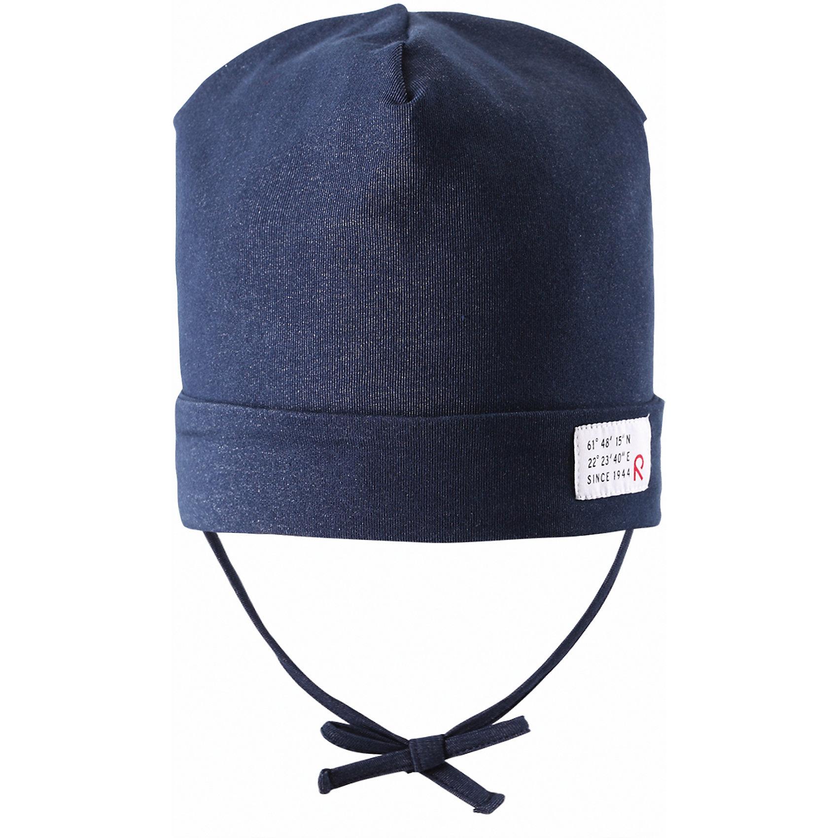 Шапка для мальчика ReimaВесна пришла! А к весне мы подготовили эту легкую шапочку для малышей свежей расцветки с УФ-защитой 40+. Шапочка изготовлена из дышащего и быстросохнущего материла Play Jersey®, эффективно выводящего влагу с кожи. Идеальный выбор для активных прогулок на весеннем солнышке! <br><br>Дополнительная информация:<br><br>Трикотажная шапка «Бини» для малышей<br>Быстросохнущий материал Play Jersey, приятный на ощупь<br>Мягкий хлопчатобумажный верх, внутренняя поверхность хорошо выводит влагу<br>Фактор защиты от ультрафиолета 40+<br>Сплошная подкладка: отводящий влагу материал Play Jersey<br>Логотип Reima® сбоку<br>Состав:<br>65% ХЛ 30% ПЭ 5% ЭЛ<br>Уход:<br>Стирать с бельем одинакового цвета, вывернув наизнанку. Полоскать без специального средства. Придать первоначальную форму вo влажном виде.<br><br>Ширина мм: 89<br>Глубина мм: 117<br>Высота мм: 44<br>Вес г: 155<br>Цвет: синий<br>Возраст от месяцев: 9<br>Возраст до месяцев: 12<br>Пол: Мужской<br>Возраст: Детский<br>Размер: 48,50,52,46<br>SKU: 4497786