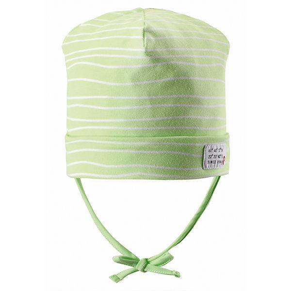 Шапка ReimaШапки и шарфы<br>Весна пришла! А к весне мы подготовили эту легкую шапочку для малышей свежей расцветки с УФ-защитой 40+. Шапочка изготовлена из дышащего и быстросохнущего материла Play Jersey®, эффективно выводящего влагу с кожи. Идеальный выбор для активных прогулок на весеннем солнышке! <br><br>Дополнительная информация:<br><br>Трикотажная шапка «Бини» для малышей<br>Быстросохнущий материал Play Jersey, приятный на ощупь<br>Мягкий хлопчатобумажный верх, внутренняя поверхность хорошо выводит влагу<br>Фактор защиты от ультрафиолета 40+<br>Сплошная подкладка: отводящий влагу материал Play Jersey<br>Логотип Reima® сбоку<br>Состав:<br>65% ХЛ 30% ПЭ 5% ЭЛ<br>Уход:<br>Стирать с бельем одинакового цвета, вывернув наизнанку. Полоскать без специального средства. Придать первоначальную форму вo влажном виде.<br><br>Ширина мм: 89<br>Глубина мм: 117<br>Высота мм: 44<br>Вес г: 155<br>Цвет: желтый<br>Возраст от месяцев: 60<br>Возраст до месяцев: 72<br>Пол: Унисекс<br>Возраст: Детский<br>Размер: 50,46,48,52<br>SKU: 4498021