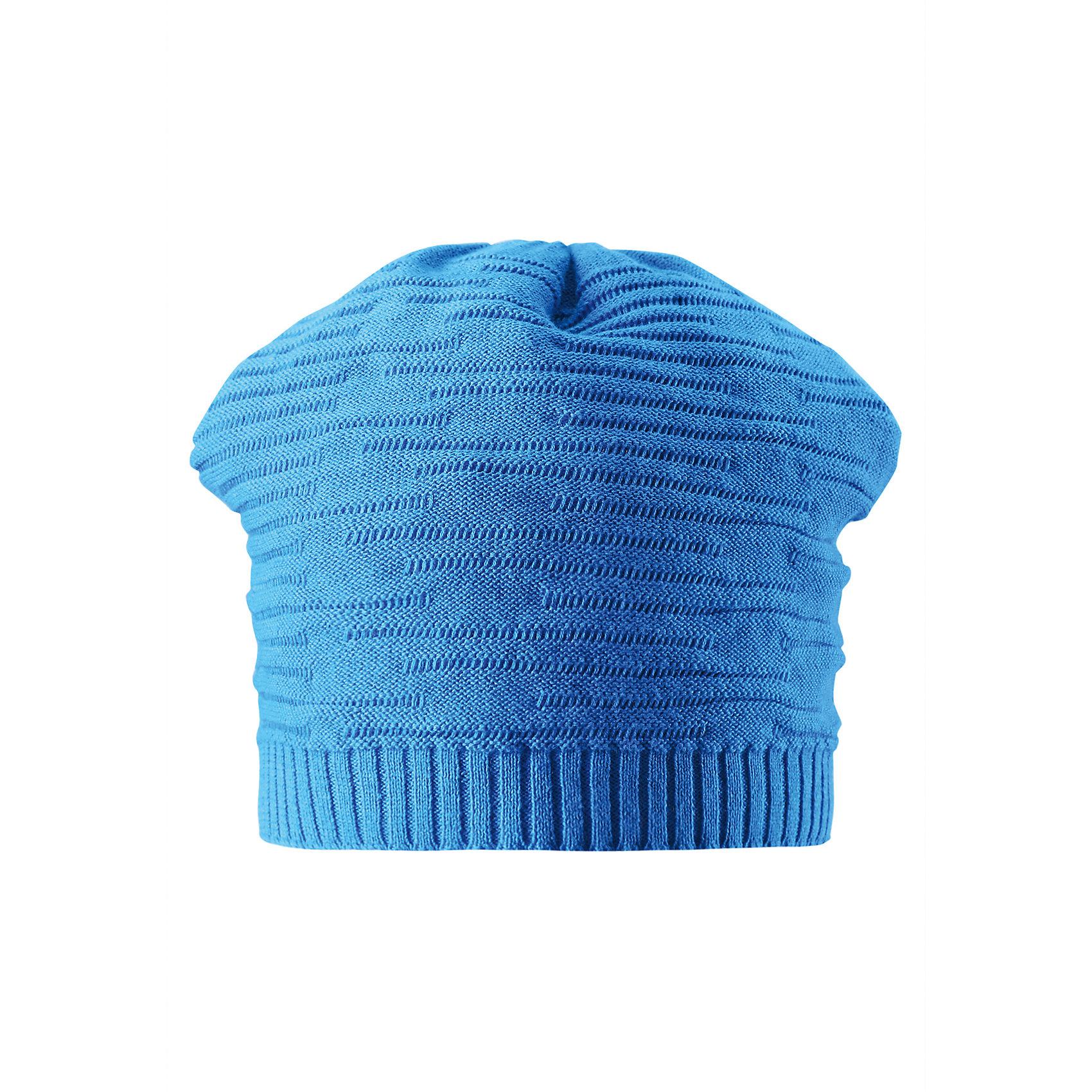 Шапка для мальчика ReimaУютная и теплая, но при этом дышащая детская шапочка идеально подойдет для теплых и веселых весенних деньков. Декоративная вязка создает модный образ, а свежие весенние цвета оживят любой наряд! Эта модель не имеет подкладки, поэтому она легкая и отлично подойдет для солнечных дней.<br><br>Дополнительная информация:<br><br>Шапка «Бини» для детей<br>Эластичная хлопчатобумажная ткань<br>Легкий стиль, без подкладки<br>Логотип Reima® сзади<br>Декоративный вязаный узор<br>Состав:<br>100% хлопок<br>Уход:<br>Стирать по отдельности, вывернув наизнанку. Придать первоначальную форму вo влажном виде. Возможна усадка 5 %.<br><br>Ширина мм: 89<br>Глубина мм: 117<br>Высота мм: 44<br>Вес г: 155<br>Цвет: голубой<br>Возраст от месяцев: 36<br>Возраст до месяцев: 48<br>Пол: Мужской<br>Возраст: Детский<br>Размер: 50,54,56,52<br>SKU: 4498298