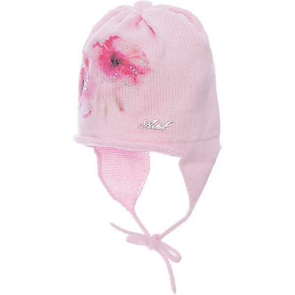 Шапка для девочки АртельШапочки<br>Шапка для девочки от торговой марки Артель <br><br>Модная шапка отлично смотрится на детях и комфортно сидит. Эта модель создана специально для девочек. Изделие выполнено из качественных материалов. Смешанный состав пряжи обеспечит износостойкость и удобство. Отличный вариант для переменной погоды межсезонья! <br>Одежда от бренда Артель – это высокое качество по приемлемой цене и всегда продуманный дизайн. <br><br>Особенности модели: <br>- цвет - розовый; <br>- украшена вышивкой; <br>- есть завязки; <br>- пряжа смешанного состава. <br><br>Дополнительная информация: <br><br>Состав: 50% хлопок, 50% пан.<br><br><br>Температурный режим: <br>от -10 °C до +10 °C <br><br>Шапку для девочки Артель (Artel) можно купить в нашем магазине.<br><br>Ширина мм: 89<br>Глубина мм: 117<br>Высота мм: 44<br>Вес г: 155<br>Цвет: розовый<br>Возраст от месяцев: 9<br>Возраст до месяцев: 12<br>Пол: Женский<br>Возраст: Детский<br>Размер: 46,42,44,48<br>SKU: 4500365