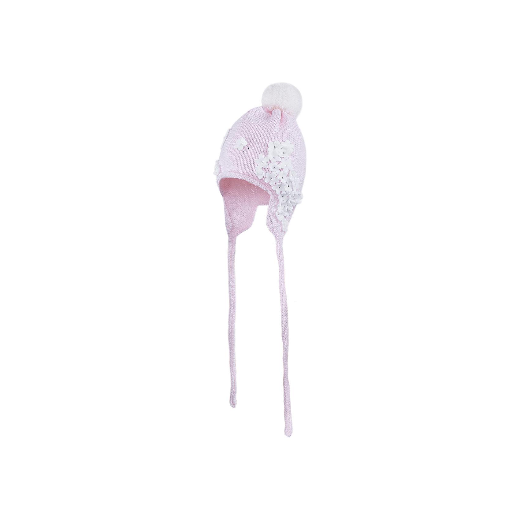 Шапка для девочки АртельГоловные уборы<br>Шапка для девочки от торговой марки Артель <br><br>Теплая шапка отлично смотрится на детях и комфортно сидит. Эта модель создана специально для девочек. Изделие выполнено из качественных материалов. Отличный вариант для переменной погоды межсезонья! <br>Одежда от бренда Артель – это высокое качество по приемлемой цене и всегда продуманный дизайн. <br><br>Особенности модели: <br>- цвет — розовый; <br>- украшена объемной аппликацией; <br>- застежка внизу; <br>- натуральная шерсть. <br><br>Дополнительная информация: <br><br>Состав: 100% шерсть.<br><br><br>Температурный режим: <br>от -10 °C до +10 °C <br><br>Шапку для девочки Артель (Artel) можно купить в нашем магазине.<br><br>Ширина мм: 89<br>Глубина мм: 117<br>Высота мм: 44<br>Вес г: 155<br>Цвет: розовый<br>Возраст от месяцев: 3<br>Возраст до месяцев: 4<br>Пол: Женский<br>Возраст: Детский<br>Размер: 42,46,50,44,48<br>SKU: 4500398