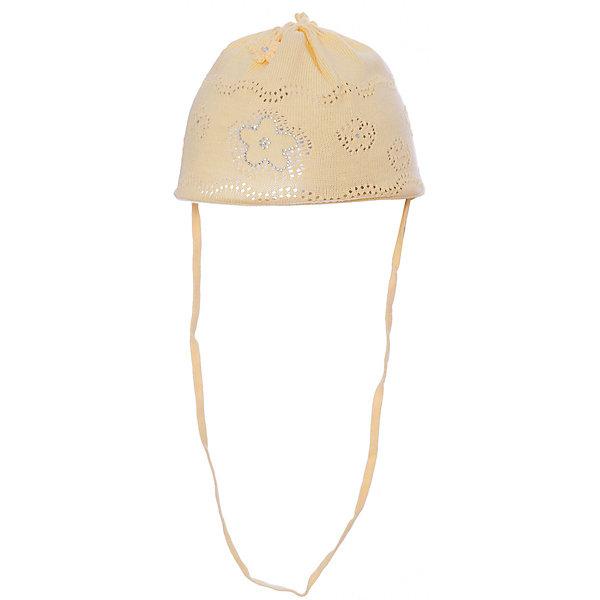 Шапка для девочки АртельШапочки<br>Шапка для девочки от торговой марки Артель <br><br>Хлопковая шапка для самых маленьких отлично смотрится на детях и комфортно сидит. Эта модель создана специально для девочек. Изделие выполнено из качественных материалов.<br>Одежда от бренда Артель – это высокое качество по приемлемой цене и всегда продуманный дизайн. <br><br>Особенности модели: <br>- цвет — желтый; <br>- украшена объемными текстильными цветами и блестящими элементами; <br>- завязки внизу; <br>- натуральный хлопок. <br><br>Дополнительная информация: <br><br>Состав: 100% хлопок.<br><br>Шапку для девочки Артель (Artel) можно купить в нашем магазине.<br><br>Ширина мм: 89<br>Глубина мм: 117<br>Высота мм: 44<br>Вес г: 155<br>Цвет: желтый<br>Возраст от месяцев: 3<br>Возраст до месяцев: 4<br>Пол: Женский<br>Возраст: Детский<br>Размер: 42,36,38,40,44,46<br>SKU: 4500417