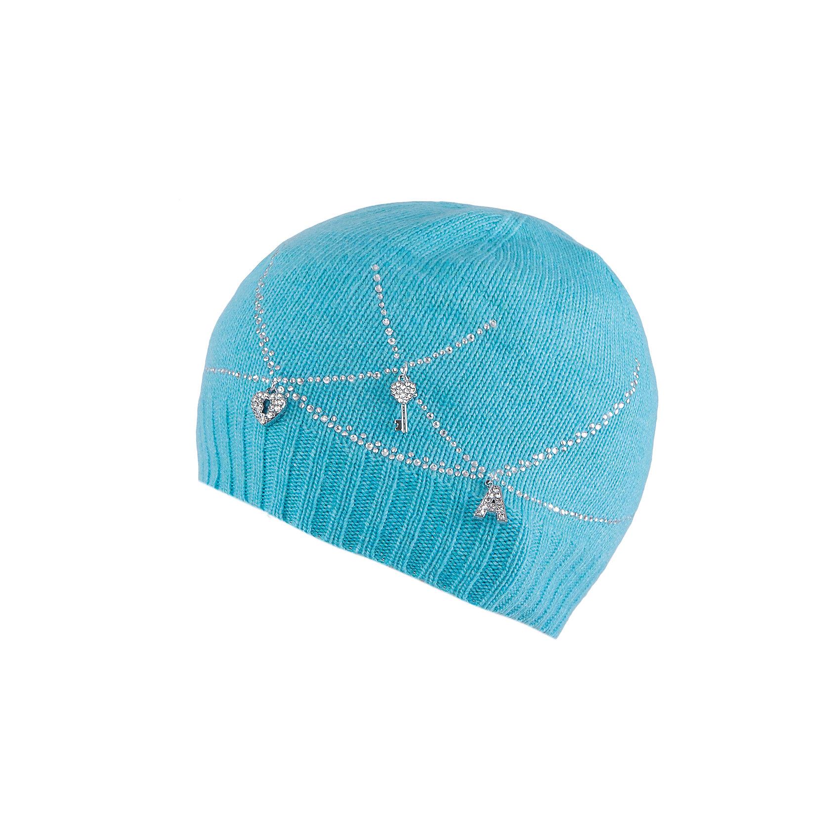 Шапка для девочки АртельШапка для девочки от торговой марки Артель <br><br>Модная шапка отлично смотрится на детях и комфортно сидит. Эта модель создана специально для девочек. Изделие выполнено из качественных материалов. Отличный вариант для переменной погоды межсезонья! <br>Одежда от бренда Артель – это высокое качество по приемлемой цене и всегда продуманный дизайн. <br><br>Особенности модели: <br>- цвет — голубой; <br>- украшена блестящими элементами; <br>- состав пряжи смешанный. <br><br>Дополнительная информация: <br><br>Состав: 40% шерсть, 25% вискоза, 15% па, 10% кашемир, 10% ангора.<br><br><br>Температурный режим: <br>от -10 °C до +10 °C <br><br>Шапку для девочки Артель (Artel) можно купить в нашем магазине.<br><br>Ширина мм: 89<br>Глубина мм: 117<br>Высота мм: 44<br>Вес г: 155<br>Цвет: голубой<br>Возраст от месяцев: 96<br>Возраст до месяцев: 108<br>Пол: Женский<br>Возраст: Детский<br>Размер: 56,54,52,50<br>SKU: 4500448