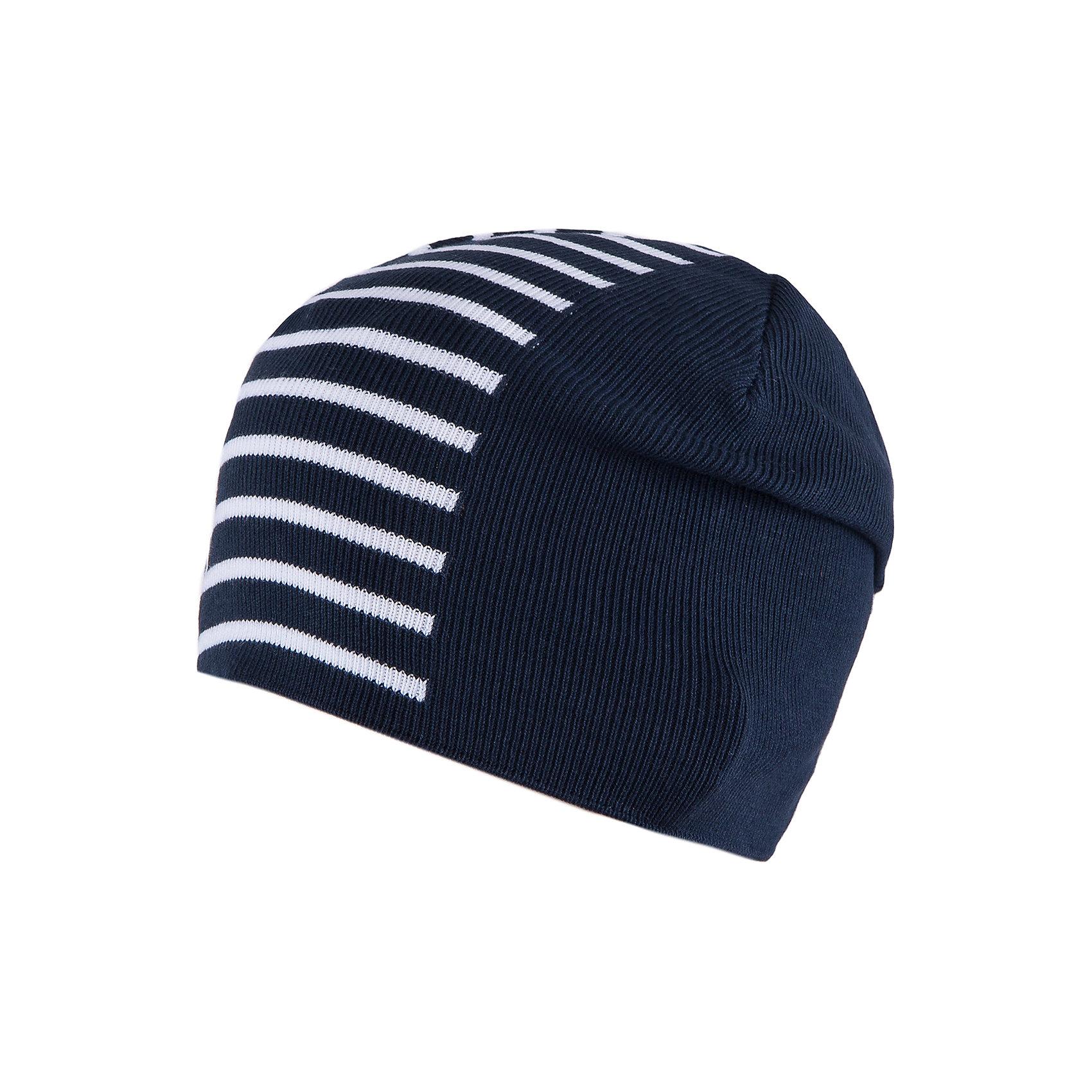 Шапка для мальчика АртельШапка для мальчика от торговой марки Артель <br><br>Стильная полосатая шапка отлично смотрится с разным нарядами. Изделие выполнено из качественных материалов, вязка плотная. Натуральный хлопок обеспечит износостойкость и удобство. Отличный вариант для переменной погоды межсезонья! <br>Одежда от бренда Артель – это высокое качество по приемлемой цене и всегда продуманный дизайн. <br><br>Особенности модели: <br>- цвет - синий; <br>- в полоску; <br>- натуральный хлопок. <br><br>Дополнительная информация: <br><br>Состав: 100% хлопок.<br><br><br>Температурный режим: <br>От -5 °C до +10 °C <br><br>Шапку для мальчика Артель (Artel) можно купить в нашем магазине.<br><br>Ширина мм: 89<br>Глубина мм: 117<br>Высота мм: 44<br>Вес г: 155<br>Цвет: синий<br>Возраст от месяцев: 96<br>Возраст до месяцев: 108<br>Пол: Мужской<br>Возраст: Детский<br>Размер: 56,52,54<br>SKU: 4500471