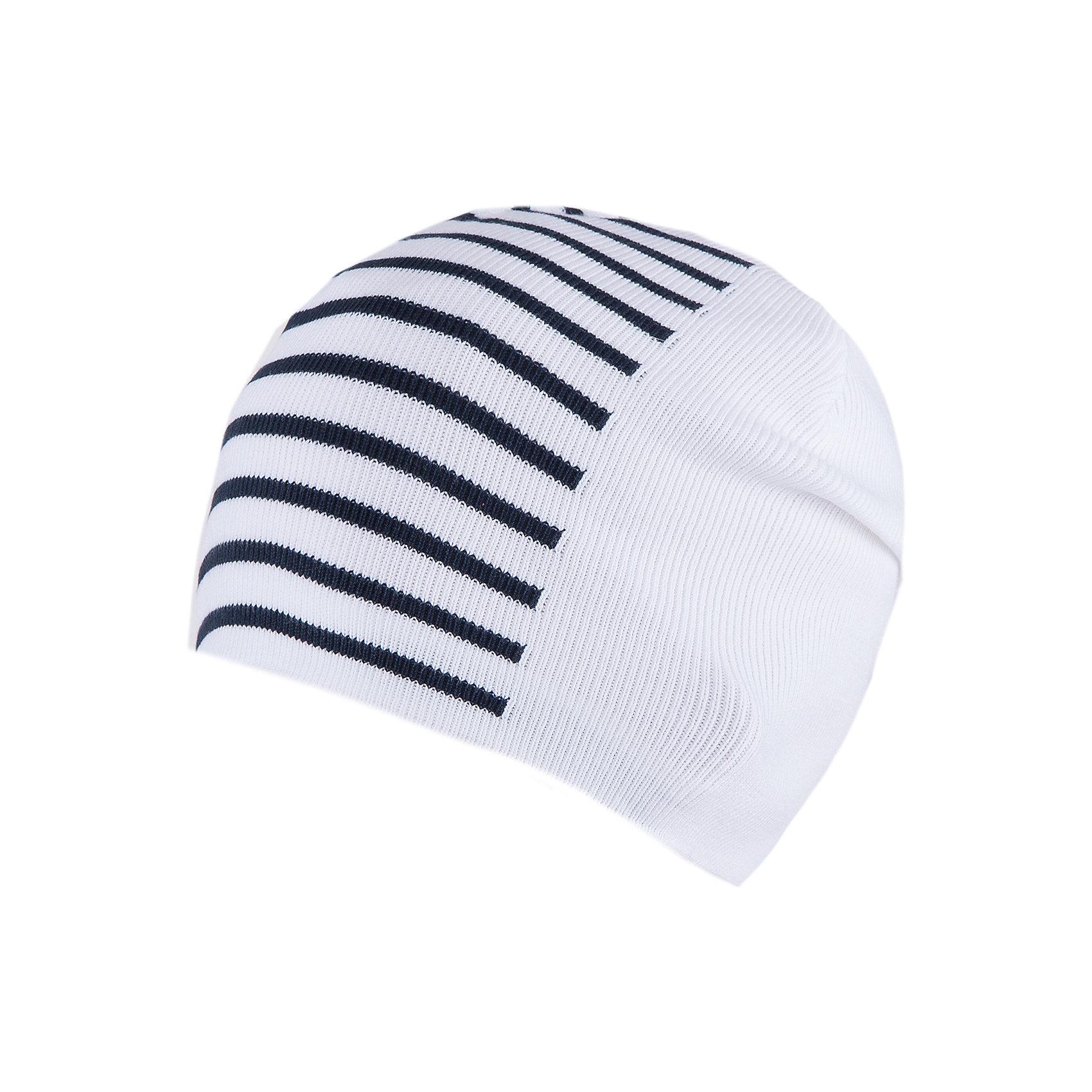 Шапка для мальчика АртельГоловные уборы<br>Шапка для мальчика от торговой марки Артель <br><br>Стильная полосатая шапка отлично смотрится с разным нарядами. Изделие выполнено из качественных материалов, вязка плотная. Натуральный хлопок обеспечит износостойкость и удобство. Отличный вариант для переменной погоды межсезонья! <br>Одежда от бренда Артель – это высокое качество по приемлемой цене и всегда продуманный дизайн. <br><br>Особенности модели: <br>- цвет — белый; <br>- в полоску; <br>- натуральный хлопок. <br><br>Дополнительная информация: <br><br>Состав: 100% хлопок.<br><br><br>Температурный режим: <br>От -5 °C до +10 °C <br><br>Шапку для мальчика Артель (Artel) можно купить в нашем магазине.<br><br>Ширина мм: 89<br>Глубина мм: 117<br>Высота мм: 44<br>Вес г: 155<br>Цвет: белый<br>Возраст от месяцев: 72<br>Возраст до месяцев: 84<br>Пол: Мужской<br>Возраст: Детский<br>Размер: 54,56,52<br>SKU: 4500475