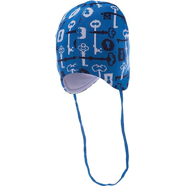 Шапка для мальчика АртельШапочки<br>Шапка для мальчика от торговой марки Артель <br><br>Теплая шапка для малышей отлично смотрится на детях и комфортно сидит. Изделие выполнено из качественных материалов, вязка плотная. Натуральный хлопок обеспечит износостойкость и удобство. Отличный вариант для переменной погоды межсезонья! <br>Одежда от бренда Артель – это высокое качество по приемлемой цене и всегда продуманный дизайн. <br><br>Особенности модели: <br>- цвет — голубой; <br>- есть завязки; <br>- украшена принтом; <br>- подкладка — натуральный хлопок. <br><br>Дополнительная информация: <br><br>Состав: верх — 50%хлопок, 50% пан, подкладка - 100% хлопок.<br><br><br>Температурный режим: <br>От -5 °C до +10 °C <br><br>Шапку для мальчика Артель (Artel) можно купить в нашем магазине.<br>Ширина мм: 89; Глубина мм: 117; Высота мм: 44; Вес г: 155; Цвет: голубой; Возраст от месяцев: 9; Возраст до месяцев: 12; Пол: Мужской; Возраст: Детский; Размер: 46,48,42,44; SKU: 4500500;