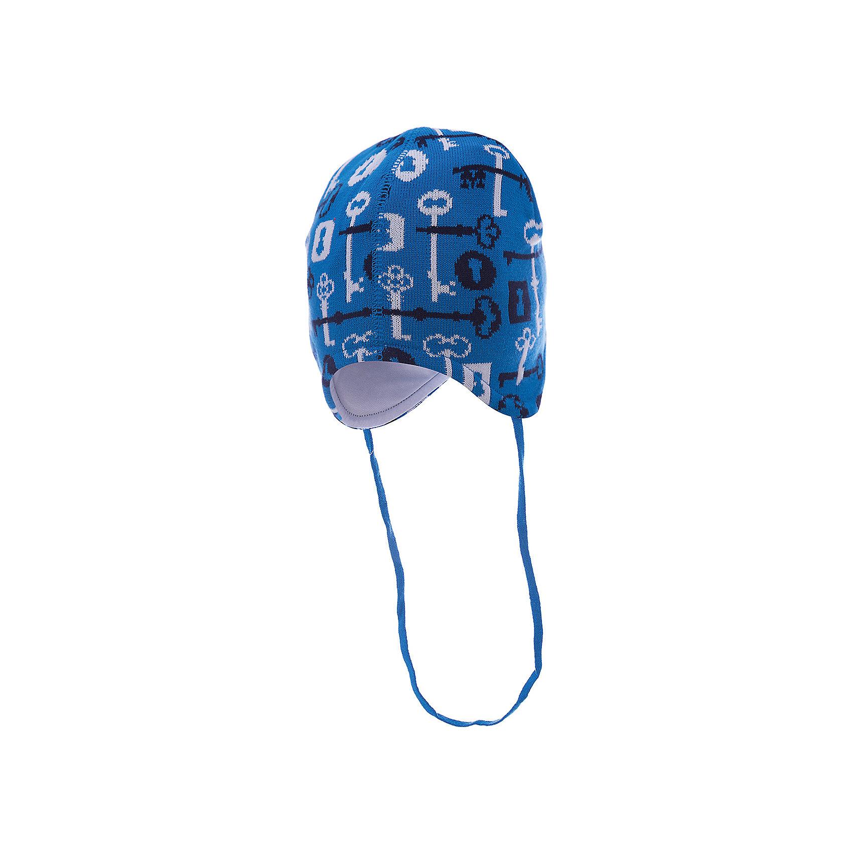 Шапка для мальчика АртельШапочки<br>Шапка для мальчика от торговой марки Артель <br><br>Теплая шапка для малышей отлично смотрится на детях и комфортно сидит. Изделие выполнено из качественных материалов, вязка плотная. Натуральный хлопок обеспечит износостойкость и удобство. Отличный вариант для переменной погоды межсезонья! <br>Одежда от бренда Артель – это высокое качество по приемлемой цене и всегда продуманный дизайн. <br><br>Особенности модели: <br>- цвет — голубой; <br>- есть завязки; <br>- украшена принтом; <br>- подкладка — натуральный хлопок. <br><br>Дополнительная информация: <br><br>Состав: верх — 50%хлопок, 50% пан, подкладка - 100% хлопок.<br><br><br>Температурный режим: <br>От -5 °C до +10 °C <br><br>Шапку для мальчика Артель (Artel) можно купить в нашем магазине.<br><br>Ширина мм: 89<br>Глубина мм: 117<br>Высота мм: 44<br>Вес г: 155<br>Цвет: голубой<br>Возраст от месяцев: 18<br>Возраст до месяцев: 24<br>Пол: Мужской<br>Возраст: Детский<br>Размер: 48,46,44,42<br>SKU: 4500500