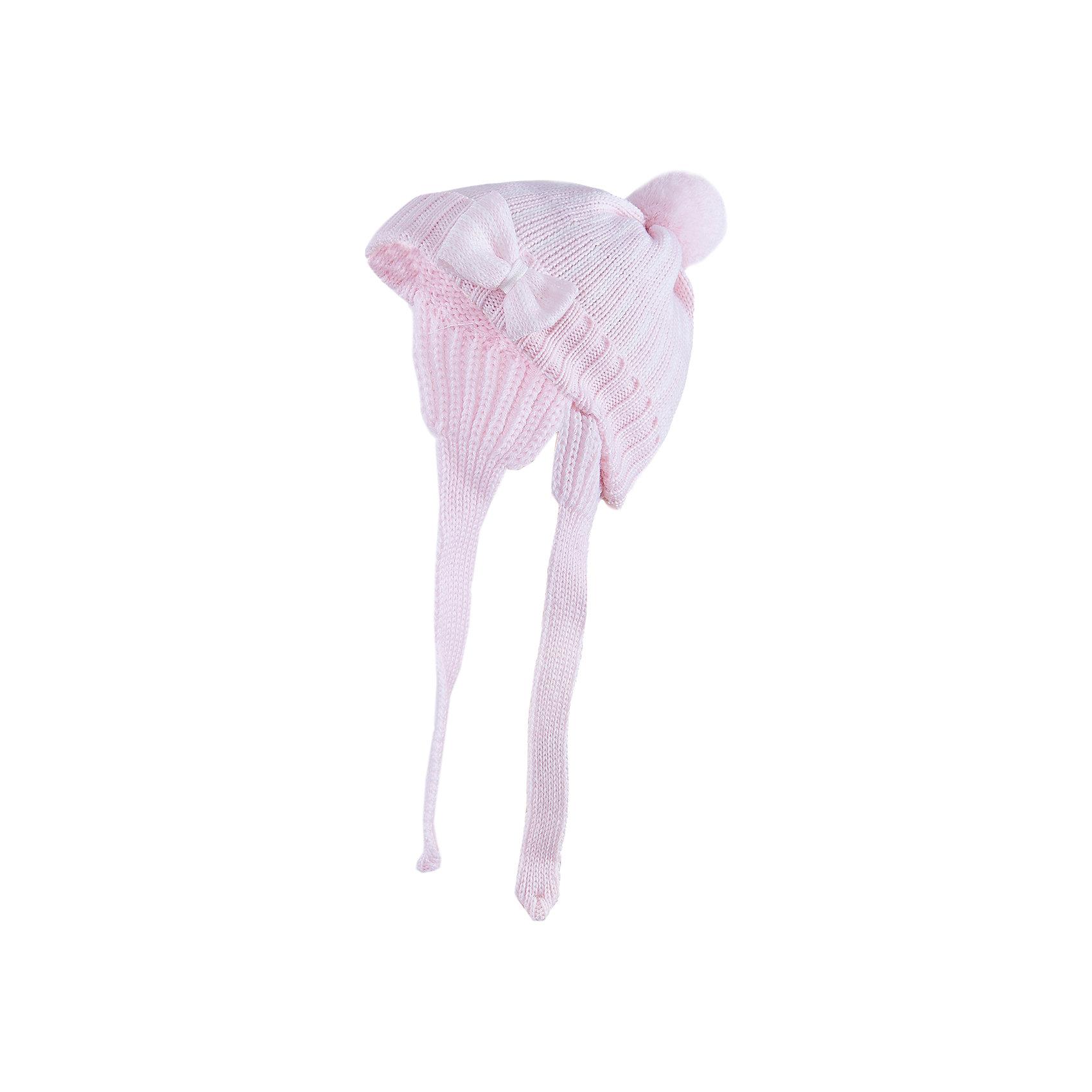 Шапка для девочки АртельГоловные уборы<br>Шапка для девочки от торговой марки Артель <br><br>Удобная и модная шапка отлично смотрится на детях и комфортно сидит. Изделие выполнено из натуральной шерсти. Отличный вариант для переменной погоды межсезонья! <br>Одежда от бренда Артель – это высокое качество по приемлемой цене и всегда продуманный дизайн. <br><br>Особенности модели: <br>- цвет — розовый; <br>- украшена бантом; <br>- есть завязки и бомбошка; <br>- натуральная шерсть. <br><br>Дополнительная информация: <br><br>Состав: 100% шерсть.<br><br><br>Температурный режим: <br>от -10 °C до +10 °C <br><br>Шапку для девочки Артель (Artel) можно купить в нашем магазине.<br><br>Ширина мм: 89<br>Глубина мм: 117<br>Высота мм: 44<br>Вес г: 155<br>Цвет: розовый<br>Возраст от месяцев: 60<br>Возраст до месяцев: 72<br>Пол: Женский<br>Возраст: Детский<br>Размер: 52,50,46,44,48<br>SKU: 4500546