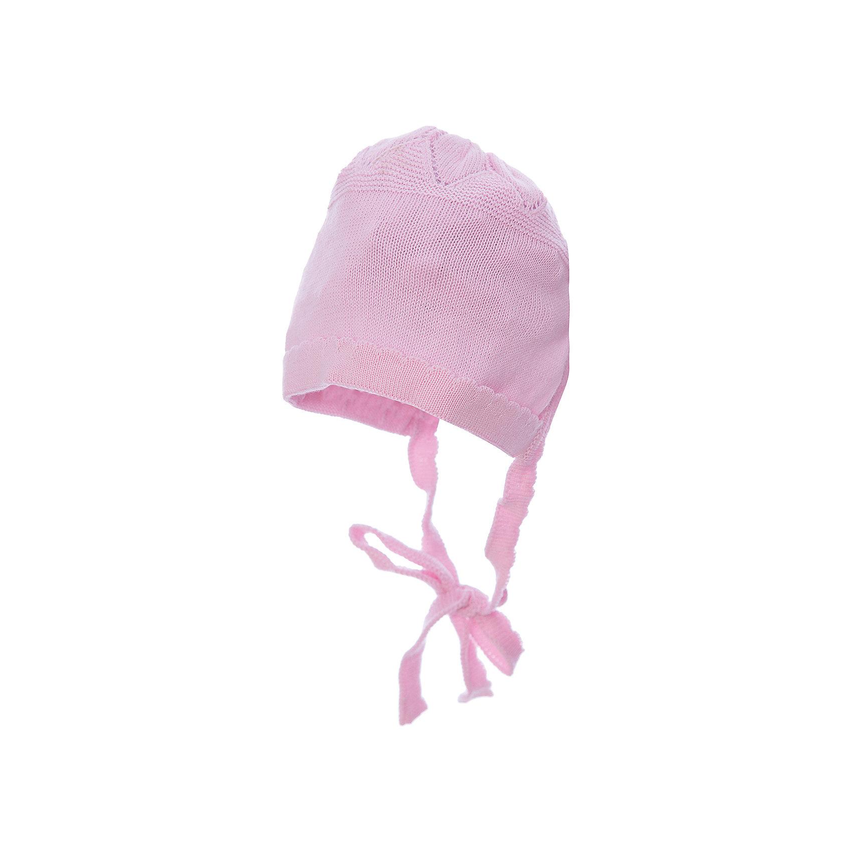 Шапка для девочки АртельШапка для девочки от торговой марки Артель <br><br>Модная шапка отлично смотрится на детях и комфортно сидит. Эта модель создана специально для девочек. Изделие выполнено из качественных материалов. Отличный вариант для переменной погоды межсезонья! <br>Одежда от бренда Артель – это высокое качество по приемлемой цене и всегда продуманный дизайн. <br><br>Особенности модели: <br>- цвет — розовый; <br>- есть завязки; <br>- натуральный хлопок. <br><br>Дополнительная информация: <br><br>Состав: 100% хлопок.<br><br>Шапку для девочки Артель (Artel) можно купить в нашем магазине.<br><br>Ширина мм: 89<br>Глубина мм: 117<br>Высота мм: 44<br>Вес г: 155<br>Цвет: розовый<br>Возраст от месяцев: 1<br>Возраст до месяцев: 2<br>Пол: Женский<br>Возраст: Детский<br>Размер: 40,42,38,36<br>SKU: 4500563