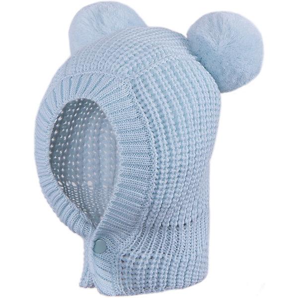 Шапка-шлем АртельГоловные уборы<br>Шапка-шлем от торговой марки Артель <br><br>Оригинальная шапка-шлем для самых маленьких. Модель отлично смотрится на детях и комфортно сидит. Шапочка теплая, пряжа — мягкая, шерстяная.<br>Одежда от бренда Артель – это высокое качество по приемлемой цене и всегда продуманный дизайн. <br><br>Особенности модели: <br>- цвет — голубой;<br>- застежки — пуговицы;<br>- две бомбошки; <br>- натуральная шерсть. <br><br>Дополнительная информация: <br><br>Состав: 100% шерсть.<br><br>Температурный режим: <br>От -15 °C до +5 °C <br><br>Шапку-шлем Артель (Artel) можно купить в нашем магазине.<br>Ширина мм: 89; Глубина мм: 117; Высота мм: 44; Вес г: 155; Цвет: голубой; Возраст от месяцев: 1; Возраст до месяцев: 2; Пол: Унисекс; Возраст: Детский; Размер: 40,44,36; SKU: 4500652;