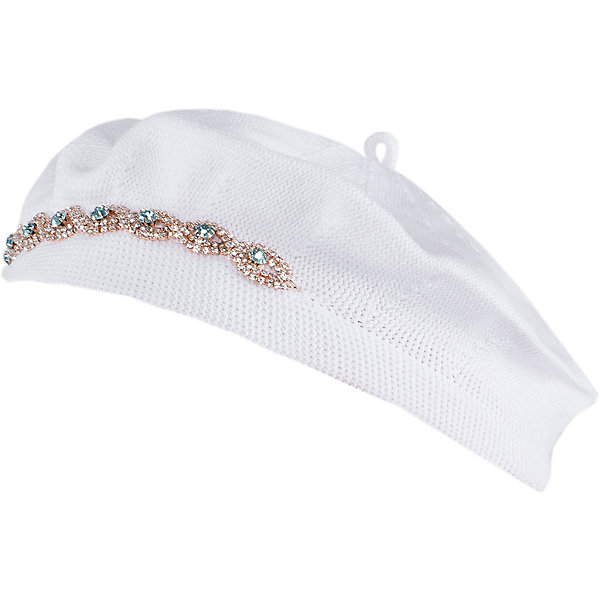 Шапка для девочки АртельГоловные уборы<br>Шапка для девочки от торговой марки Артель <br><br>Объемная шапка отлично смотрится на детях и комфортно сидит. Эта модель создана специально для девочек. Изделие выполнено из качественных материалов.<br>Одежда от бренда Артель – это высокое качество по приемлемой цене и всегда продуманный дизайн. <br><br>Особенности модели: <br>- цвет — белый; <br>- украшена стразами; <br>- материал - натуральный хлопок. <br><br>Дополнительная информация: <br><br>Состав: 100% хлопок<br><br>Температурный режим: <br>От -5 °C до +15 °C <br><br>Шапку для девочки Артель (Artel) можно купить в нашем магазине.<br>Ширина мм: 89; Глубина мм: 117; Высота мм: 44; Вес г: 155; Цвет: белый; Возраст от месяцев: 36; Возраст до месяцев: 48; Пол: Женский; Возраст: Детский; Размер: 50,48,52,54; SKU: 4500698;