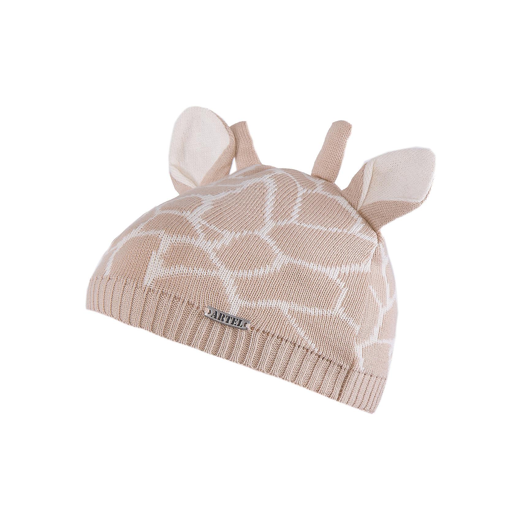 Шапка АртельШапка от торговой марки Артель <br><br>Мягкая теплая шапка отлично смотрится на детях и комфортно сидит. Оригинальный дизайн делает ребенка еще более милым. Изделие выполнено из качественных материалов.<br>Одежда от бренда Артель – это высокое качество по приемлемой цене и всегда продуманный дизайн. <br><br>Особенности модели: <br>- цвет — бежевый; <br>- украшена рожками ушками как у жирафа и соответствующим принтом; <br>- натуральный хлопок с добавкой пана. <br><br>Дополнительная информация: <br><br>Состав: верх - 50% хлопок, 50% пан;<br>Подкладка - 100% хлопок.<br><br>Температурный режим: <br>от -10 °C до +10 °C <br><br>Шапку Артель (Artel) можно купить в нашем магазине.<br><br>Ширина мм: 89<br>Глубина мм: 117<br>Высота мм: 44<br>Вес г: 155<br>Цвет: бежевый<br>Возраст от месяцев: 18<br>Возраст до месяцев: 24<br>Пол: Унисекс<br>Возраст: Детский<br>Размер: 48,44,52,50,46<br>SKU: 4500709