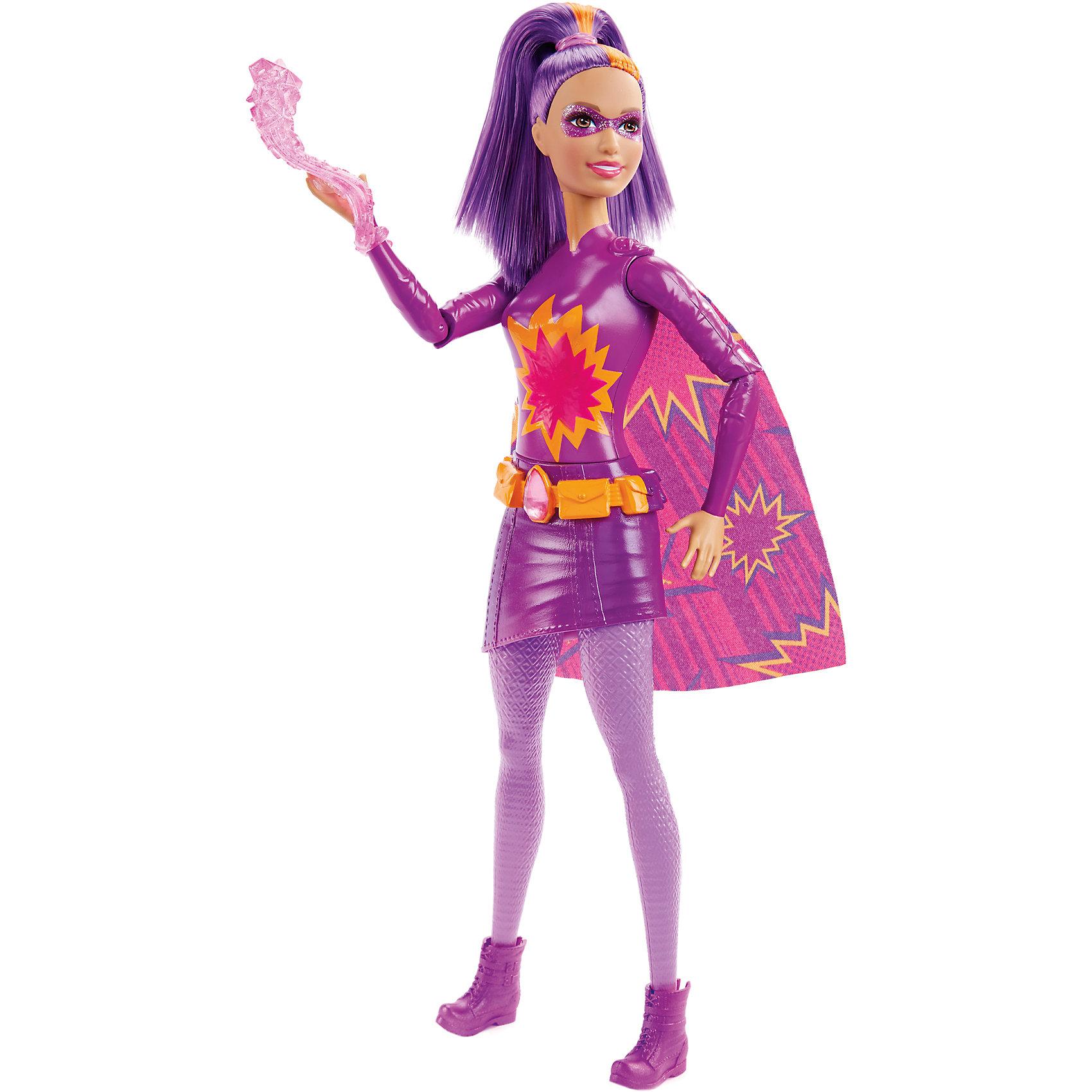 Mattel Кукла Супер-герой  Barbie barbie кукла супер герой barbie цвет одежды фиолетовый