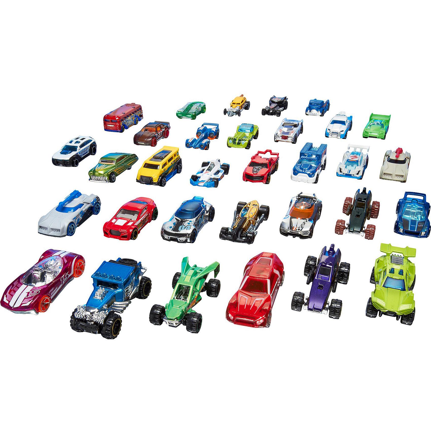 Базовые машинки (упаковка из 20-ти), Hot WheelsПопулярные игрушки<br>В этом невероятном наборе 20 автомобилей и в 20 раз больше веселья! Модели, выполненные в масштабе 1:64, придутся по вкусу как коллекционерам, так и обычным автолюбителям. В набор входят и новые модели, и авто-хиты прошлых лет. В наборы из 20 машин (продаются отдельно) входят гоночные и классические автомобили, а также ни на что не похожие багги, хот-роды, Hot Wheels Originals и многое другое.<br><br>Дополнительная информация:<br><br>- Материал: пластик, металл.<br>- 20 машинок в комплекте.<br>- Масштаб: 1:64<br>- Наборы в ассортименте.<br><br>ВНИМАНИЕ! Данный артикул представлен в разных вариантах исполнения. К сожалению, заранее выбрать определенный вариант невозможно. При заказе нескольких наборов, возможно получение одинаковых.<br><br>Базовые машинки (упаковка из 20-ти), Hot Wheels (Хот Вилс), можно купить в нашем магазине.<br><br>Ширина мм: 40<br>Глубина мм: 465<br>Высота мм: 220<br>Вес г: 1000<br>Возраст от месяцев: 36<br>Возраст до месяцев: 84<br>Пол: Мужской<br>Возраст: Детский<br>SKU: 4500810