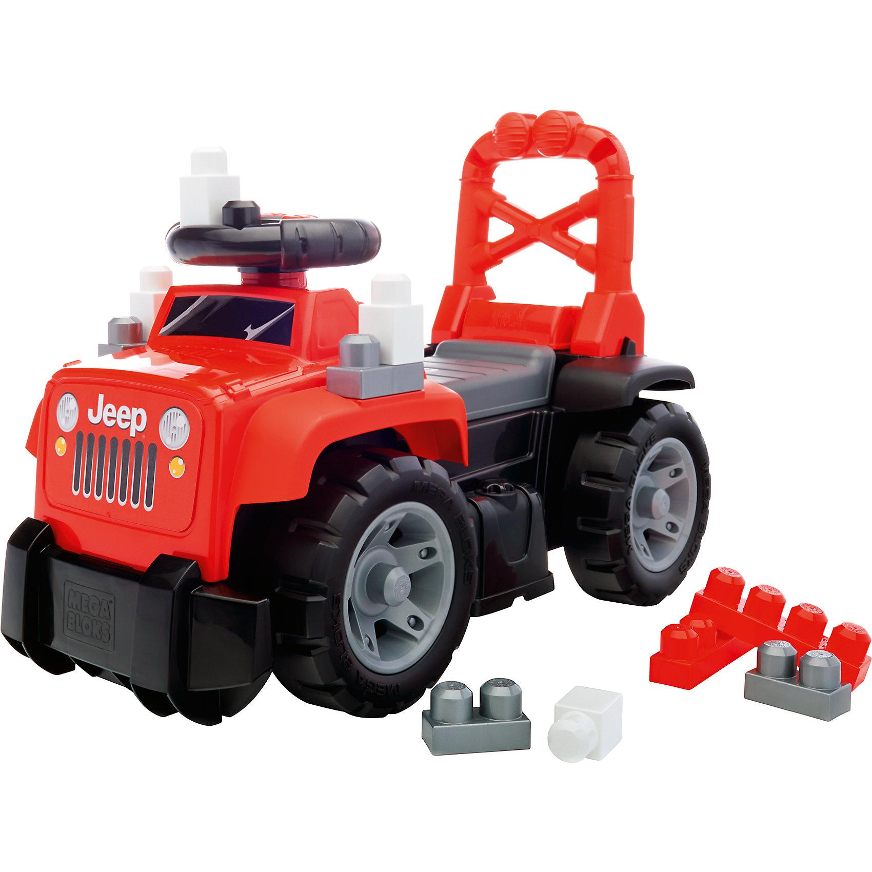 Большой красный джип 3-в-1, MEGA BLOKSБольшой красный джип обязательно понравится малышам! Машина имеет удобную спинку, за которую малыш сможет держаться, используя игрушку как ходунки. Объемный отсек под сиденьем вмещает 10 тематических блоков First Builders, с которыми очень интересно играть. На руле расположены кнопки, имитирующие звуки настоящей машины, что сделает игру еще увлекательнее. <br><br>Дополнительная информация:<br><br>- Комплектация: машина, 10 блоков. <br>- Материал: пластик.<br>- Высокая ручка-спинка.<br>- Отсек для блоков под сиденьем. <br>- Звуковые эффекты. <br>- Элемент питания: 2 АА батарейки (не входят в комплект).<br><br>Большой красный джип 3-в-1, MEGA BLOKS (Мега Блок) можно купить в нашем магазине.<br><br>Ширина мм: 595<br>Глубина мм: 305<br>Высота мм: 345<br>Вес г: 0<br>Возраст от месяцев: 36<br>Возраст до месяцев: 84<br>Пол: Мужской<br>Возраст: Детский<br>SKU: 4500815