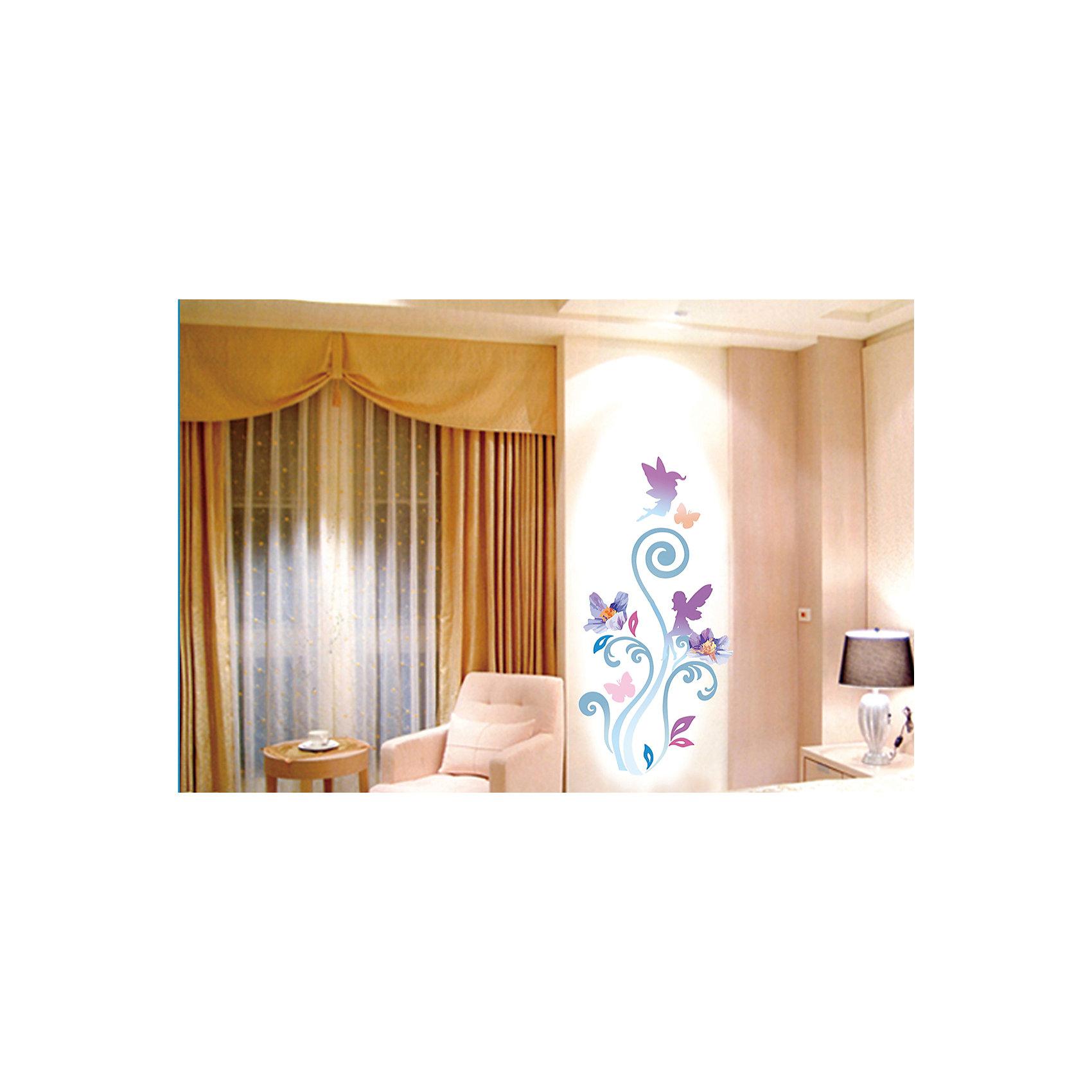 Настенное украшение Волшебный мир 35*52 см (синий)Декоративное настенное украшение в виде фей и бабочек поможет украсить дом и отлично впишется в любой интерьер. Украшение состоит из 21 элемента на клеевой основе.<br><br>Дополнительная информация:<br><br>- Материал: ПВХ.<br>- Размер: 35х52 см.<br>- Комплектация: 21 самоклеющийся элемент.<br>- Цвет: синий.<br><br>Настенное украшение Волшебный мир 35х52 см (синее) можно купить в нашем магазине.<br><br>Ширина мм: 5<br>Глубина мм: 520<br>Высота мм: 350<br>Вес г: 150<br>Возраст от месяцев: 36<br>Возраст до месяцев: 2147483647<br>Пол: Женский<br>Возраст: Детский<br>SKU: 4501149