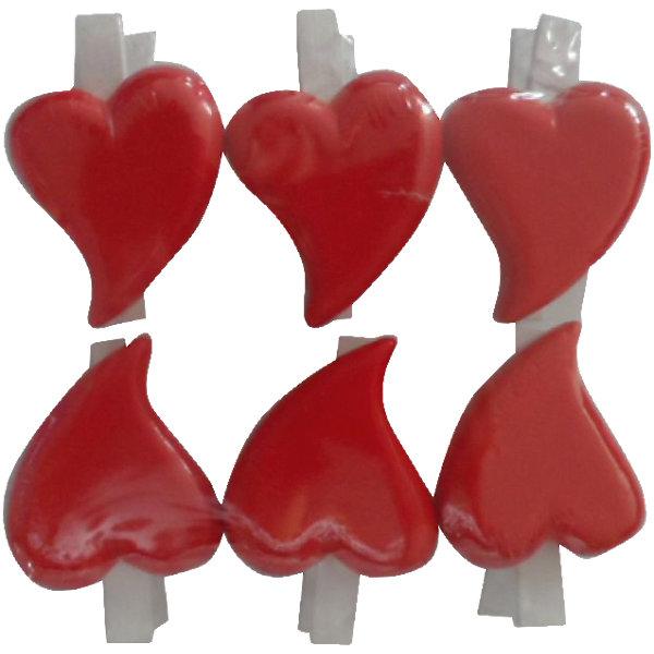 Набор декоративных прищепок Влюбленные сердечки 6 штПодарочные ленты<br>Декоративная прищепка станет приятным дополнением к любому подарку, с помощью нее вы легко украсите подарок, сделаете упаковку оригинальной, нарядной и запоминающейся. <br><br>Дополнительная информация:<br><br>- Материал: дерево, полирезина.<br>- 6 штук в наборе.<br>- Длина прищепки: 4,5 см.<br>- Размер фигурки: 3,5 см х 3 см х 0,7 см.<br>- Цвет: красный, белый. <br><br>Набор декоративных прищепок Влюбленные сердечки, 6 шт, можно купить в нашем магазине.<br><br>Ширина мм: 130<br>Глубина мм: 130<br>Высота мм: 190<br>Вес г: 79<br>Возраст от месяцев: 36<br>Возраст до месяцев: 2147483647<br>Пол: Женский<br>Возраст: Детский<br>SKU: 4501151