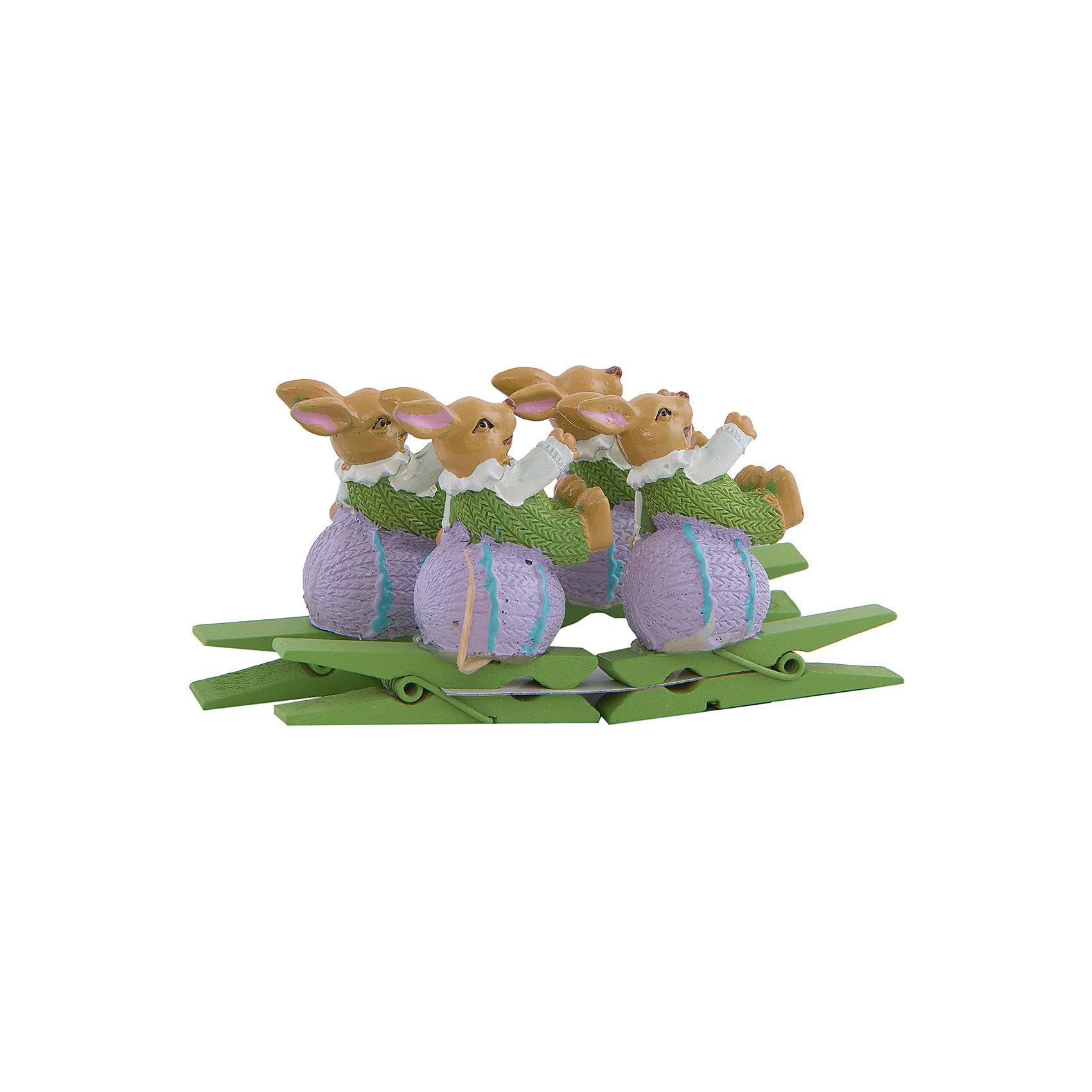 Набор декоративных прищепок Зайчата 4 штДекоративная прищепка станет приятным дополнением к любому подарку, с помощью нее вы легко украсите подарок, сделаете упаковку оригинальной, нарядной и запоминающейся. <br><br>Дополнительная информация:<br><br>- Материал: дерево, полирезина.<br>- 4 штуки в наборе.<br>- Размер упаковки: 9,6х5,5х9 см.<br>- Цвет: желтый, зеленый, белый.<br><br>Набор декоративных прищепок Зайчата, 4 шт, можно купить в нашем магазине.<br><br>Ширина мм: 120<br>Глубина мм: 170<br>Высота мм: 210<br>Вес г: 83<br>Возраст от месяцев: 36<br>Возраст до месяцев: 2147483647<br>Пол: Унисекс<br>Возраст: Детский<br>SKU: 4501152
