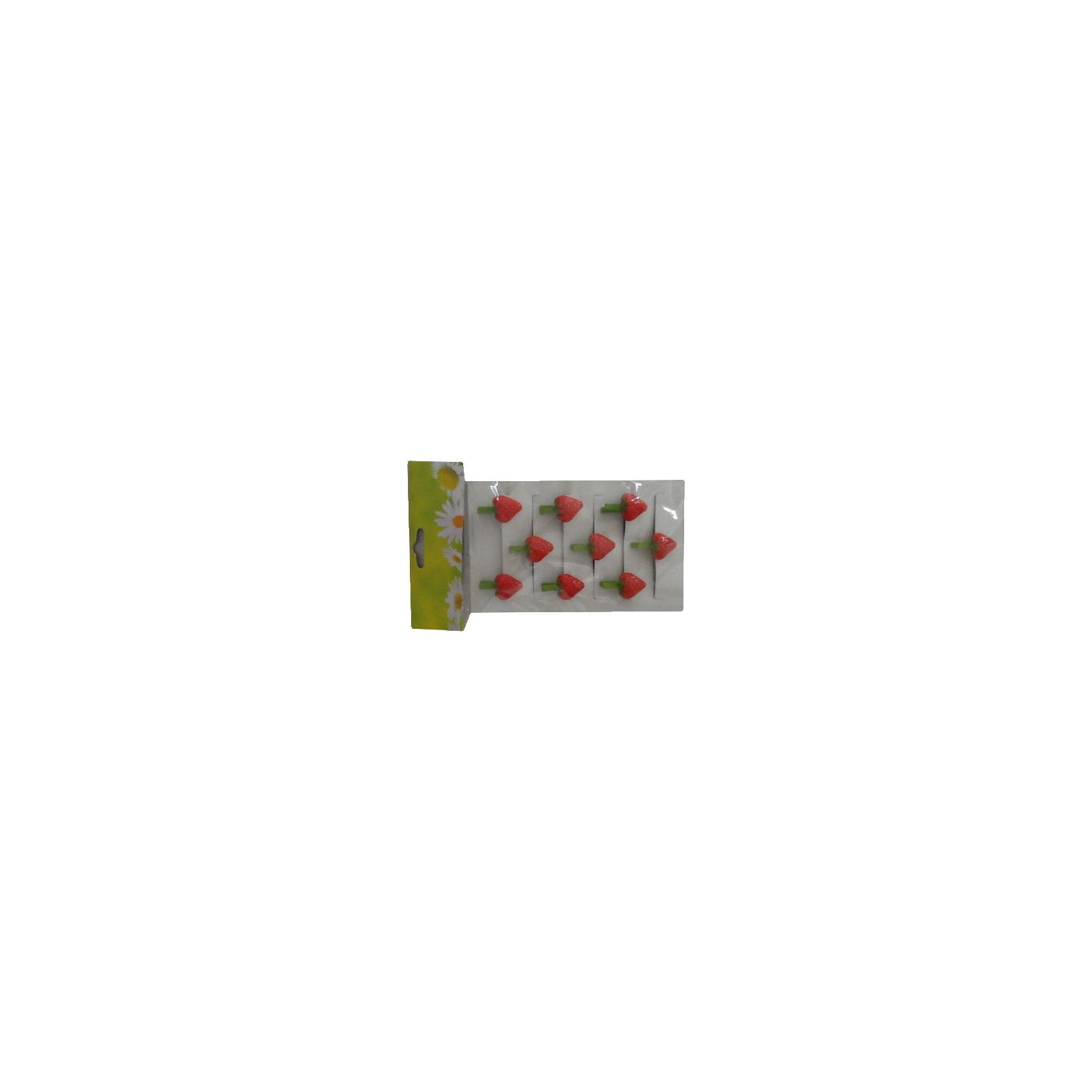 Набор декоративных прищепок Клубника 9 штДекоративная прищепка станет приятным дополнением к любому подарку, с помощью нее вы легко украсите подарок, сделаете упаковку оригинальной, нарядной и запоминающейся. <br><br>Дополнительная информация:<br><br>- Материал: дерево, полирезина.<br>- 9 штук в наборе.<br>- Размер упаковки: 22х12х1,6 см.<br>- Цвет: красный, зеленый.<br><br>Набор декоративных прищепок Клубника, 9 шт, можно купить в нашем магазине.<br><br>Ширина мм: 110<br>Глубина мм: 220<br>Высота мм: 240<br>Вес г: 43<br>Возраст от месяцев: 36<br>Возраст до месяцев: 2147483647<br>Пол: Женский<br>Возраст: Детский<br>SKU: 4501153