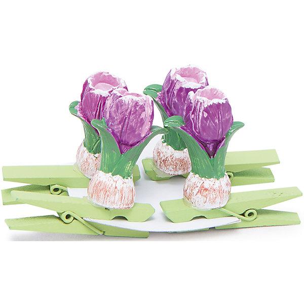 Декоративное украшение Тюльпаны 4 шт