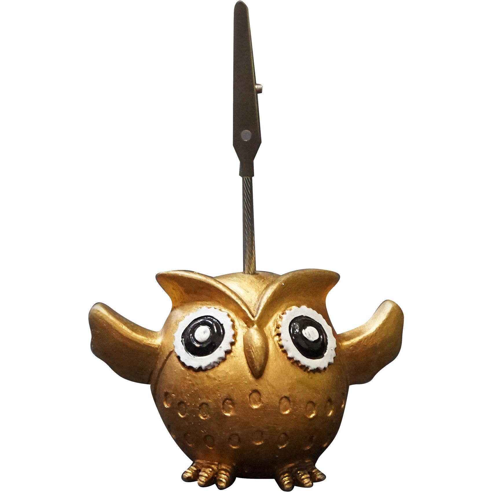 Феникс-Презент Держатель для фото Золотая сова