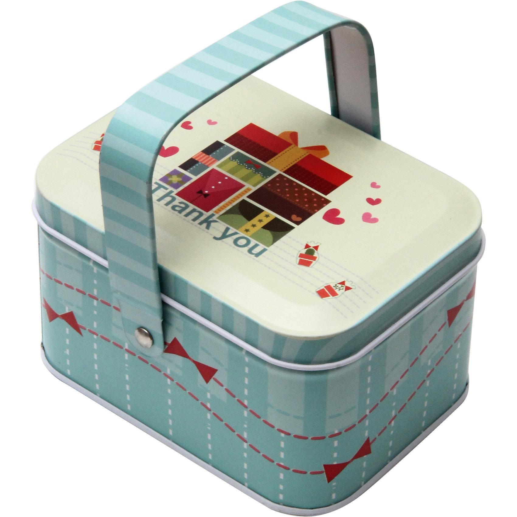 Коробка для мелочей Подарки 10,5*8*6 смПредметы интерьера<br>Удобная и практичная коробка для мелочей Подарки позволит компактно разместить различные мелочи и не тратить время на их поиски. Коробка выполнена из черного окрашенного металла, имеет привлекательный дизайн и украшена изображениями коробочек с подарками,  оснащена ручкой для переноски.<br><br>Дополнительная информация:<br><br>- Материал: черный окрашенный металл.<br>- Размер коробки: 10,5 х 8 х 6 см.<br>- Вес: 92 гр.<br><br>Коробку для мелочей Подарки, Феникс-презент, можно купить в нашем интернет-магазине.<br><br>Ширина мм: 60<br>Глубина мм: 80<br>Высота мм: 110<br>Вес г: 92<br>Возраст от месяцев: 36<br>Возраст до месяцев: 2147483647<br>Пол: Унисекс<br>Возраст: Детский<br>SKU: 4501177