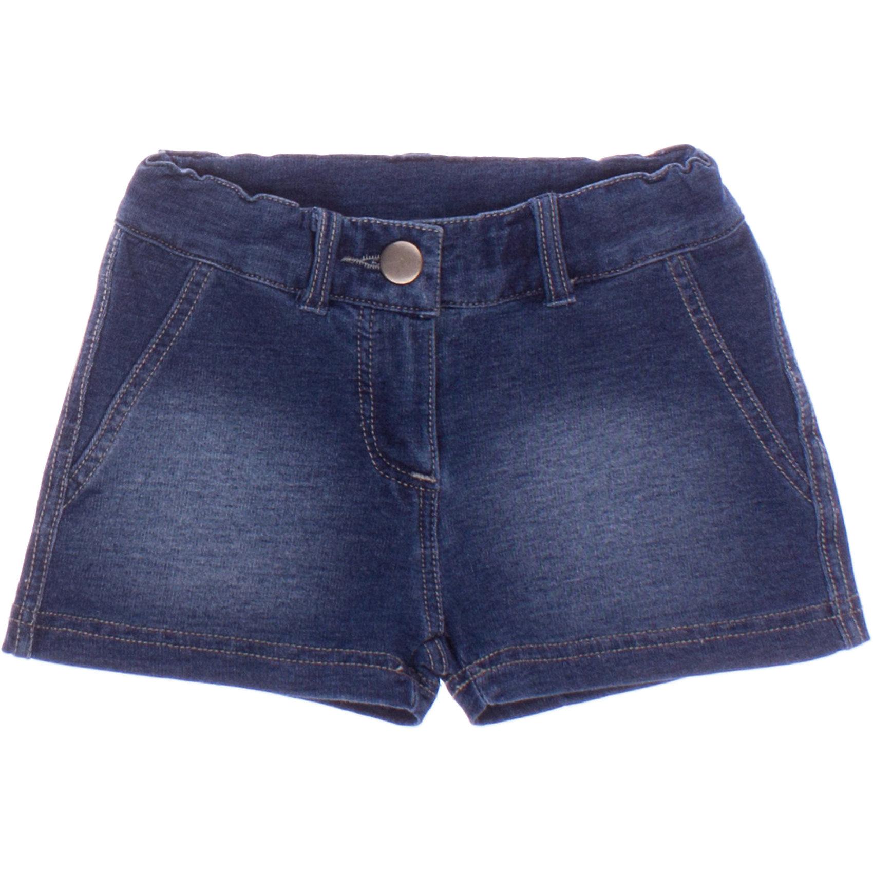 Шорты джинсовые для девочки PlayTodayДжинсовая одежда<br>Шорты для девочки PlayToday <br><br>Состав: 95% хлопок, 5% эластан <br><br>Материал - футтер с имитацией джинсы<br>Пояс на резинке<br>Есть петельки для ремня<br>Застегиваются на молнию и металлический болт<br><br>Ширина мм: 191<br>Глубина мм: 10<br>Высота мм: 175<br>Вес г: 273<br>Цвет: синий<br>Возраст от месяцев: 60<br>Возраст до месяцев: 72<br>Пол: Женский<br>Возраст: Детский<br>Размер: 110,98,122,128,116,104<br>SKU: 4502161