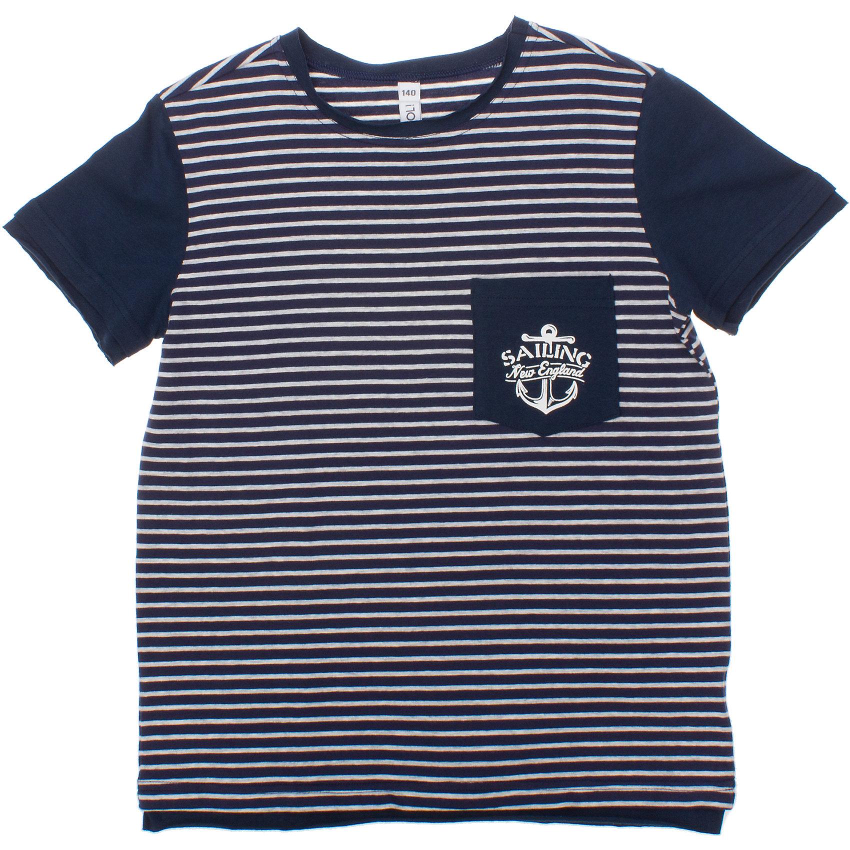 Футболка для мальчика S'CoolФутболка для мальчика S'Cool <br><br>Состав: 95% хлопок, 5% эластан <br><br>Темно-синяя футболка в белую полоску. <br>Классическая морская тематика. <br>Карман на полочке. <br>Ткань из органического хлопка с добавлением 5% эластана.<br><br>Ширина мм: 199<br>Глубина мм: 10<br>Высота мм: 161<br>Вес г: 151<br>Цвет: разноцветный<br>Возраст от месяцев: 132<br>Возраст до месяцев: 144<br>Пол: Мужской<br>Возраст: Детский<br>Размер: 164,134,140,152,158,146<br>SKU: 4502408